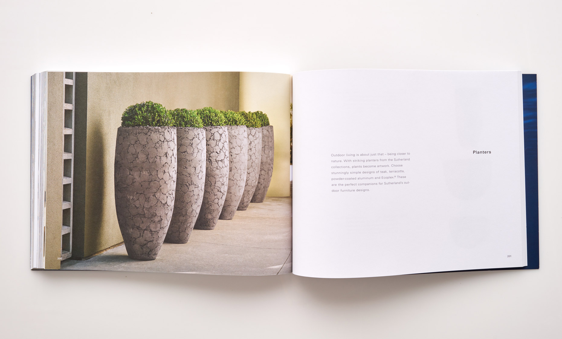 Stephen Karlisch Sutherland Furniture Planters