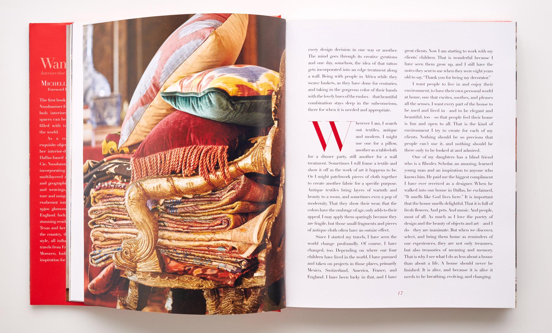 Stephen Karlisch Wanderlust 16-17 Fabric Detail
