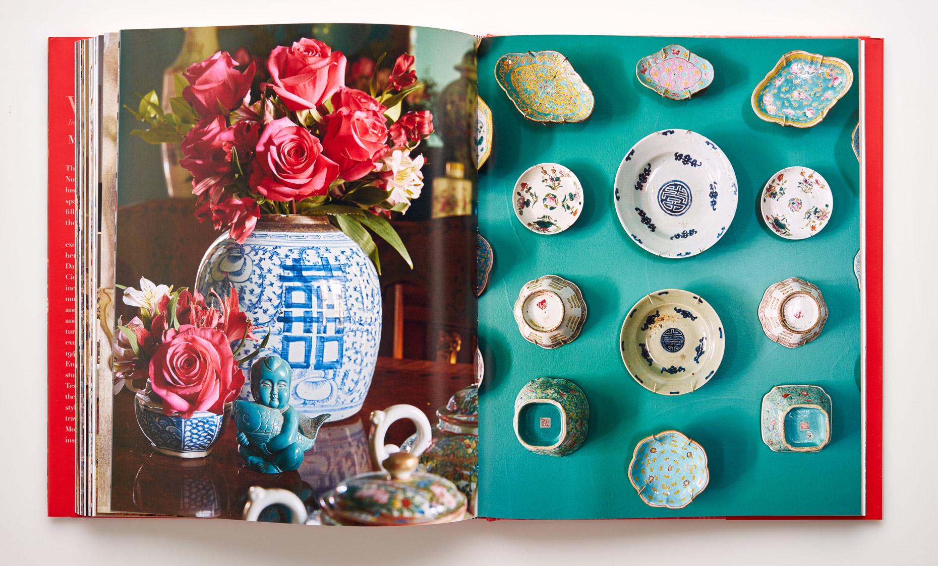 Stephen Karlisch Wanderlust Chinese Porcelain Elements