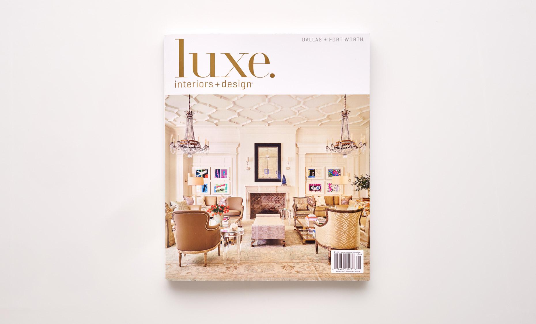 Stephen Karlisch Luxe Elegant Expanse Magazine Cover