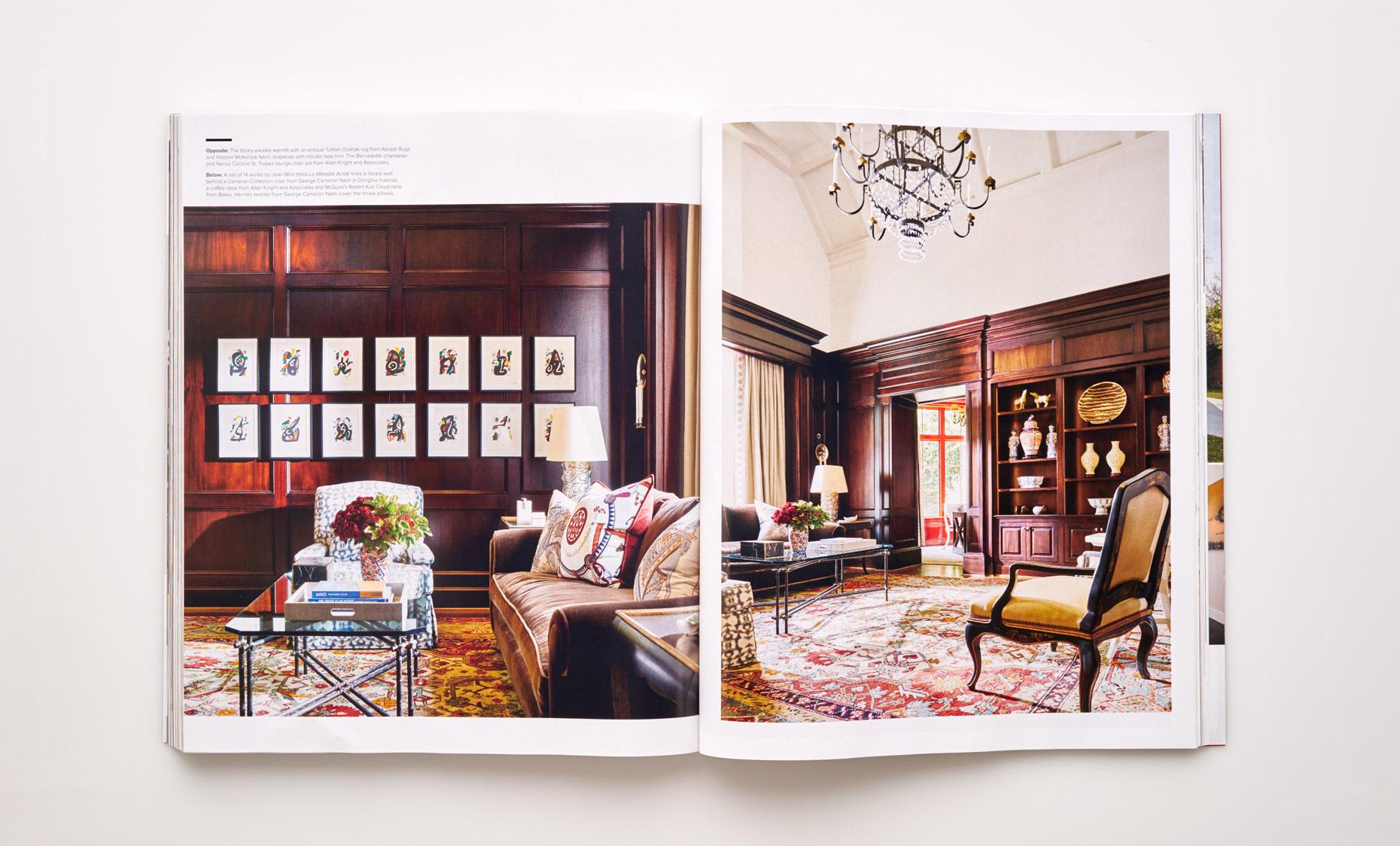 Stephen Karlisch Luxe Elegant Expanse Study
