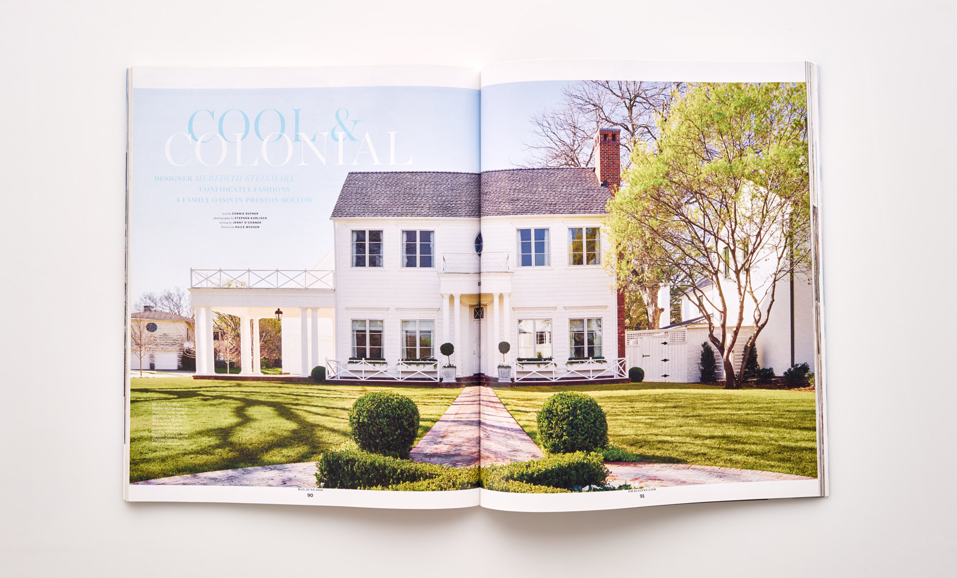 Stephen Karlisch D Home Cool Colonial Title Spread