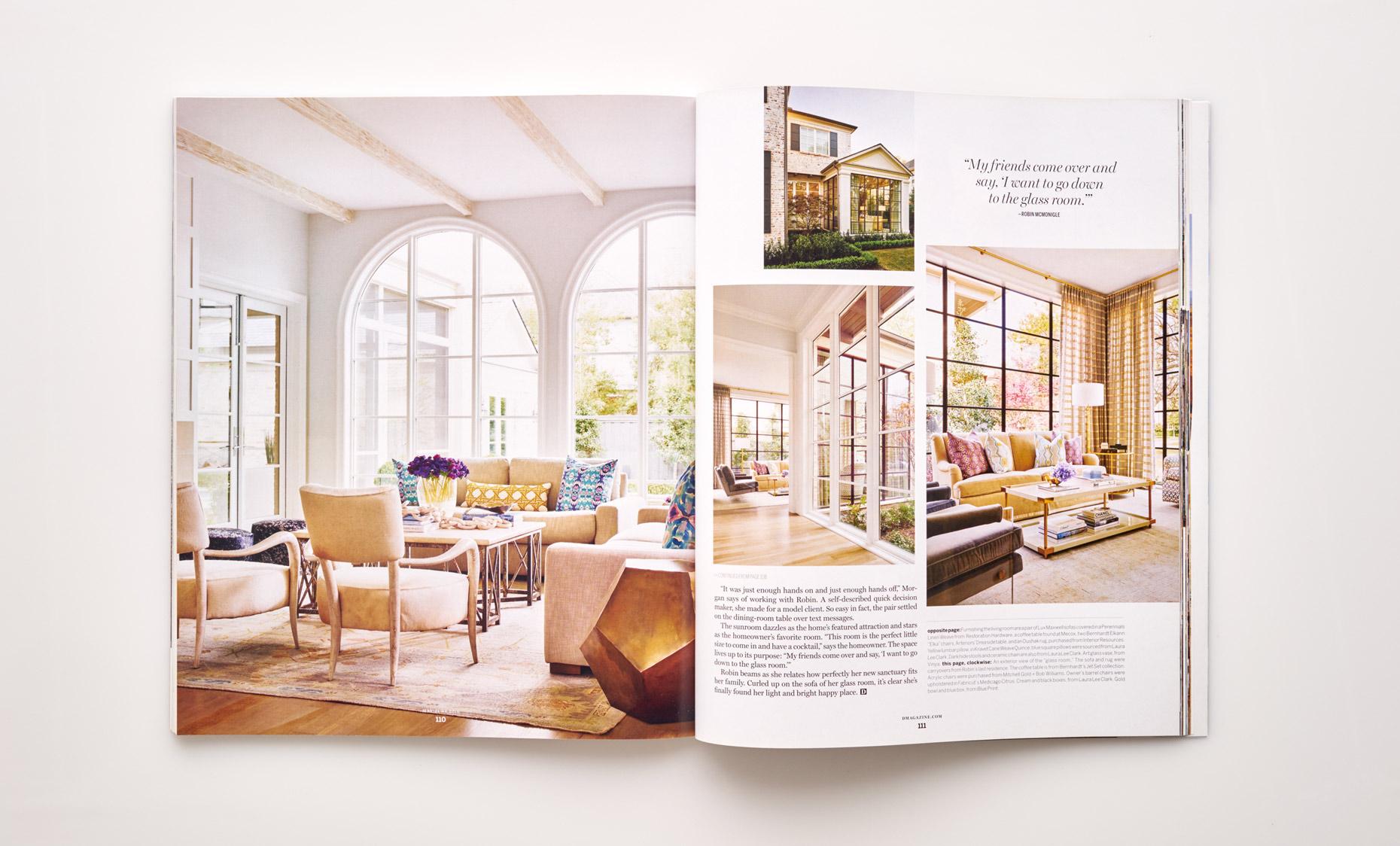 Stephen Karlisch D Home California Dreamy Living Room