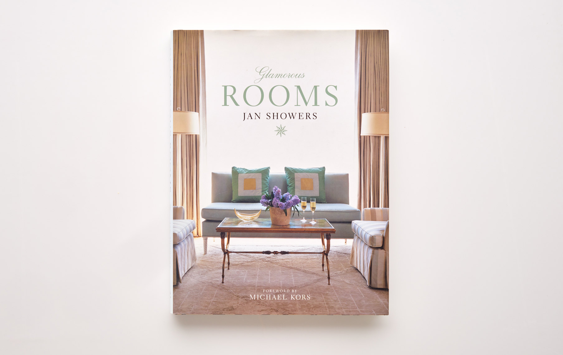 Stephen Karlisch Jan Showers Glamorous Rooms Book Cover