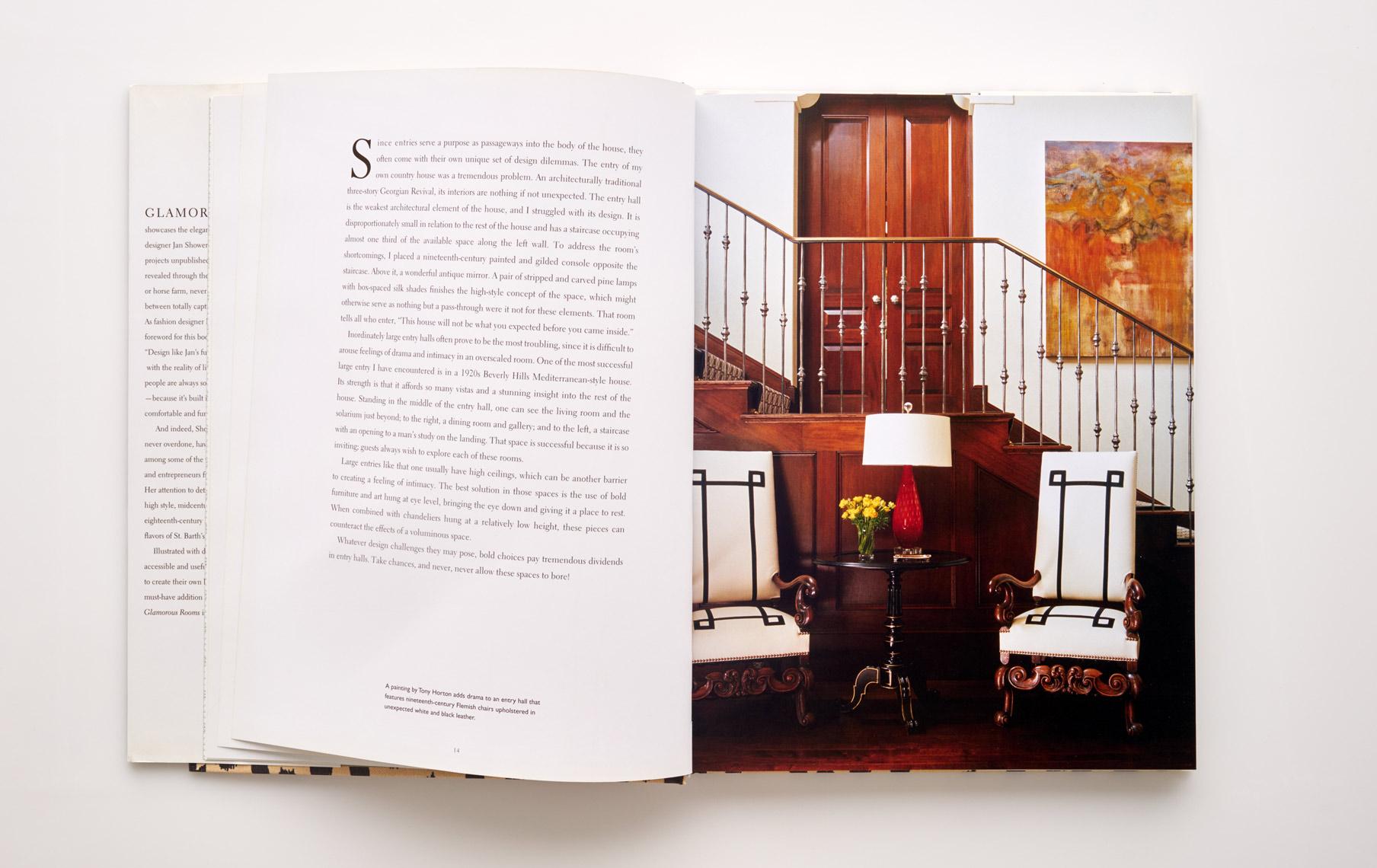 Stephen Karlisch Jan Showers Glamorous Rooms Stair