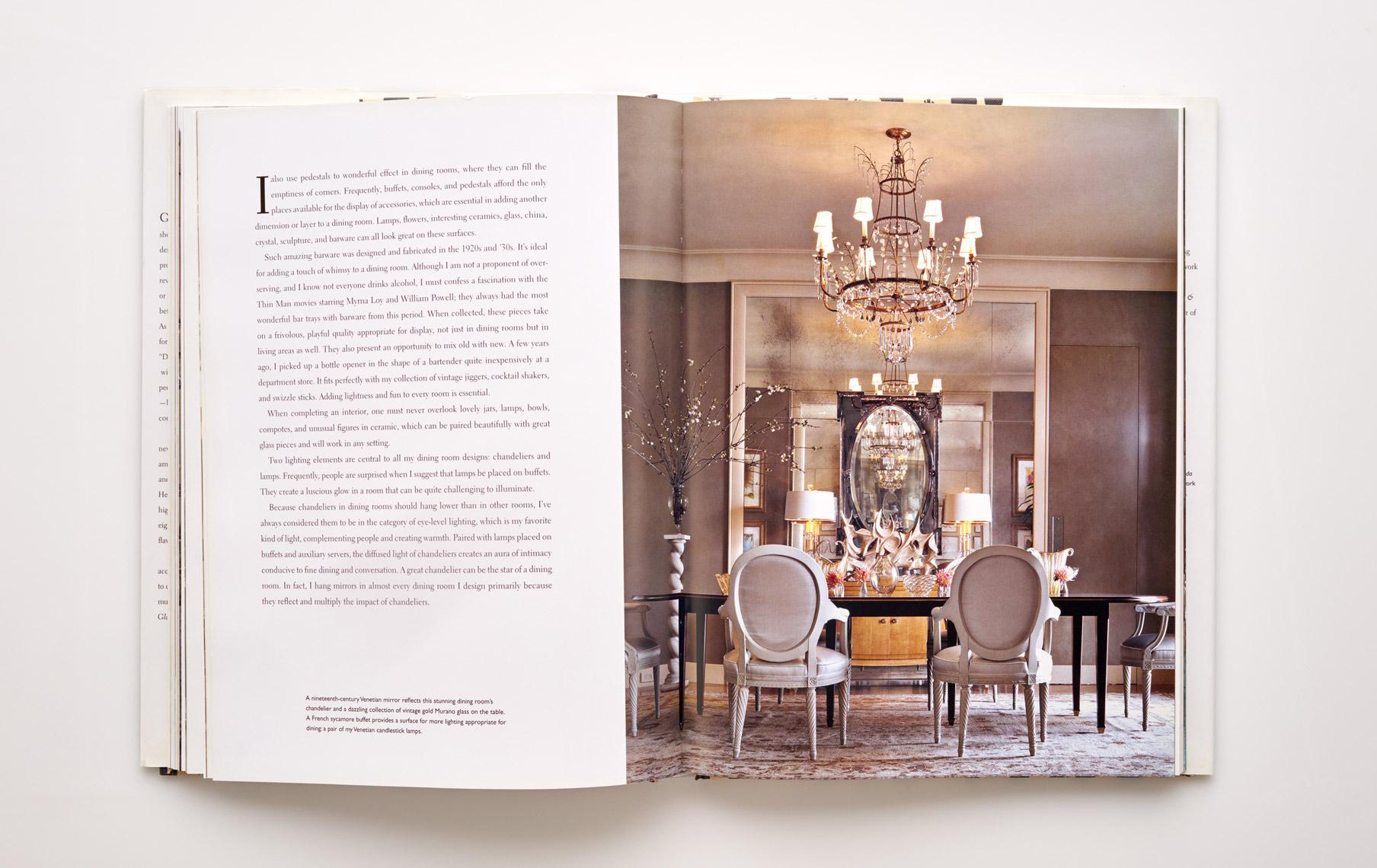 Stephen Karlisch Jan Showers Glamorous Rooms Classic Dining
