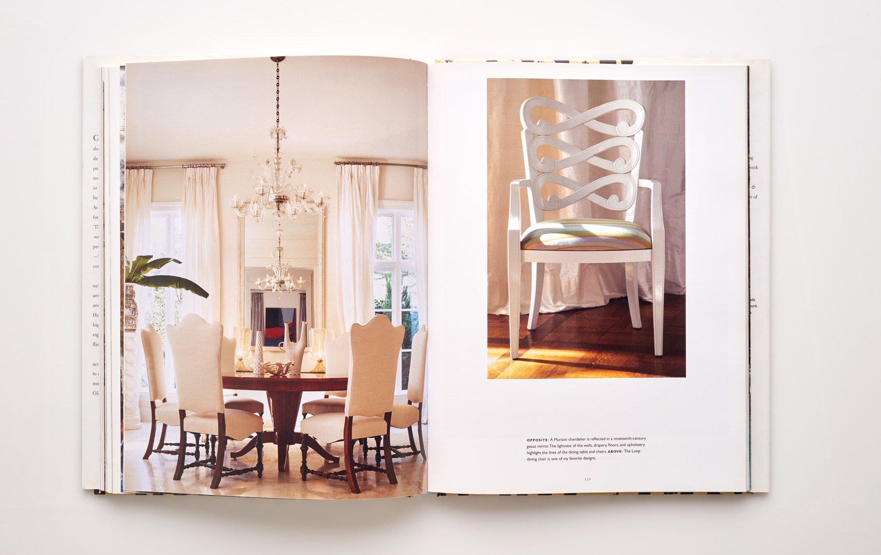 Stephen Karlisch Jan Showers Glamorous Rooms Contemporary Dining