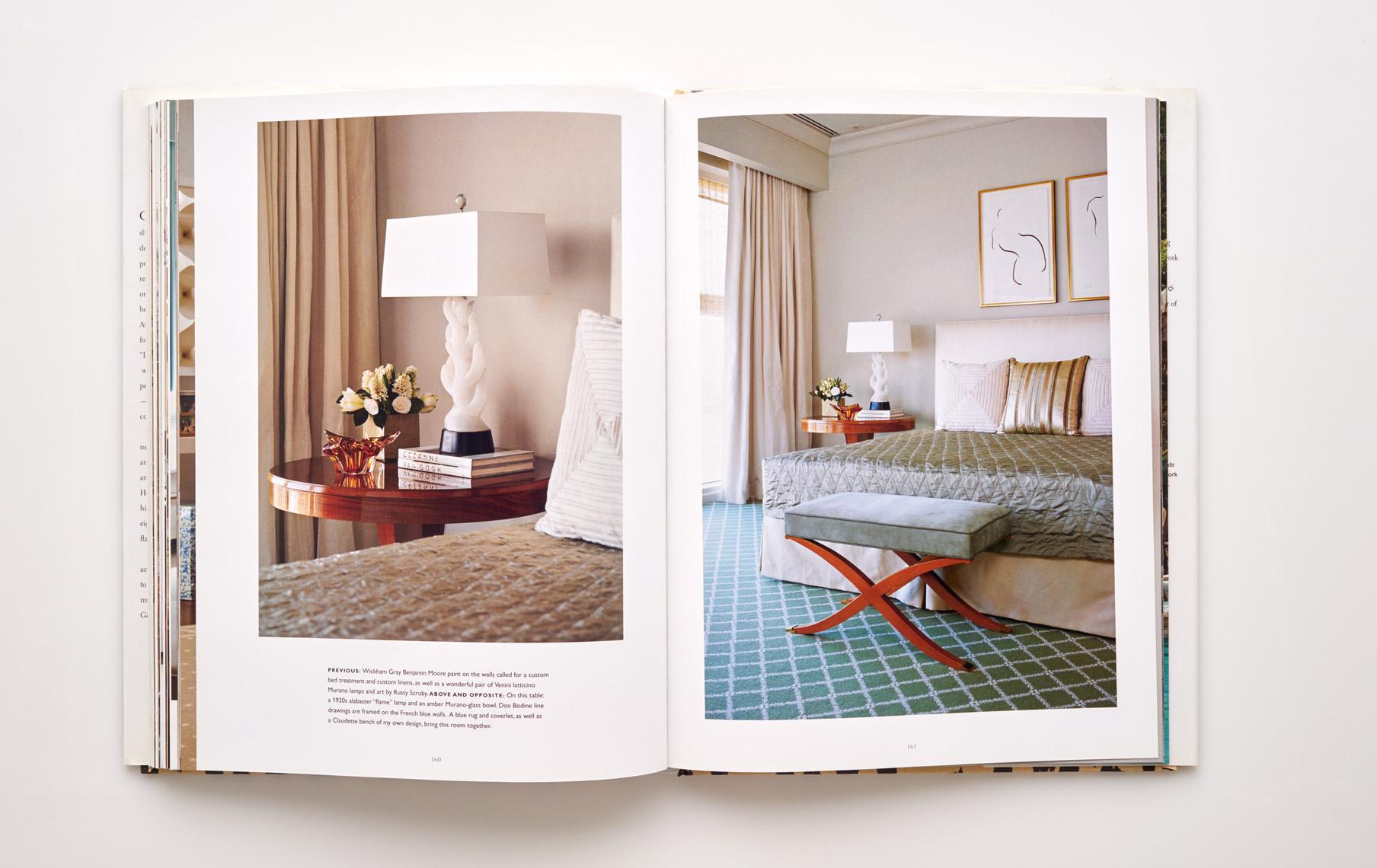 Stephen Karlisch Jan Showers Glamorous Rooms Bedroom Accents