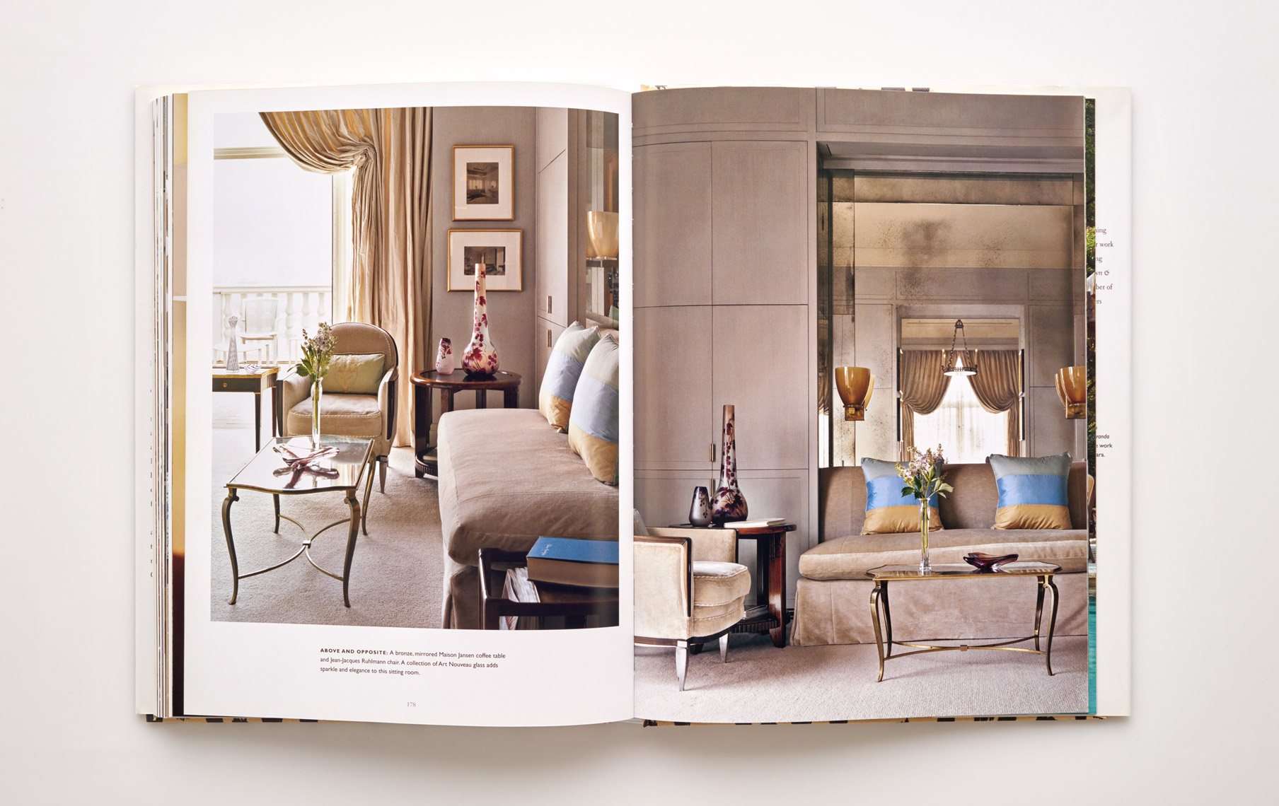 Stephen Karlisch Jan Showers Glamorous Rooms Sitting Room