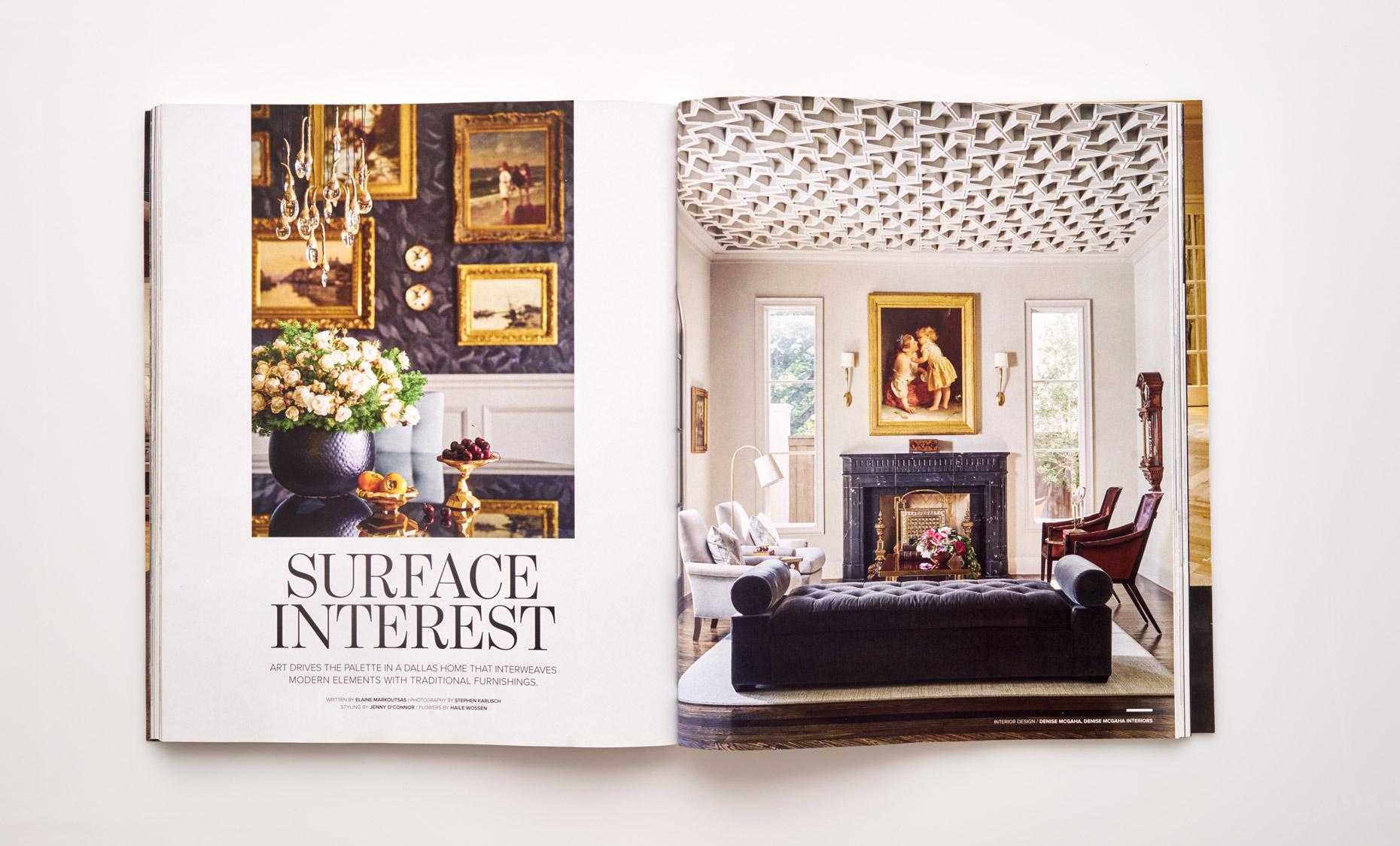 Stephen Karlisch Luxe Surface Interest Title Page