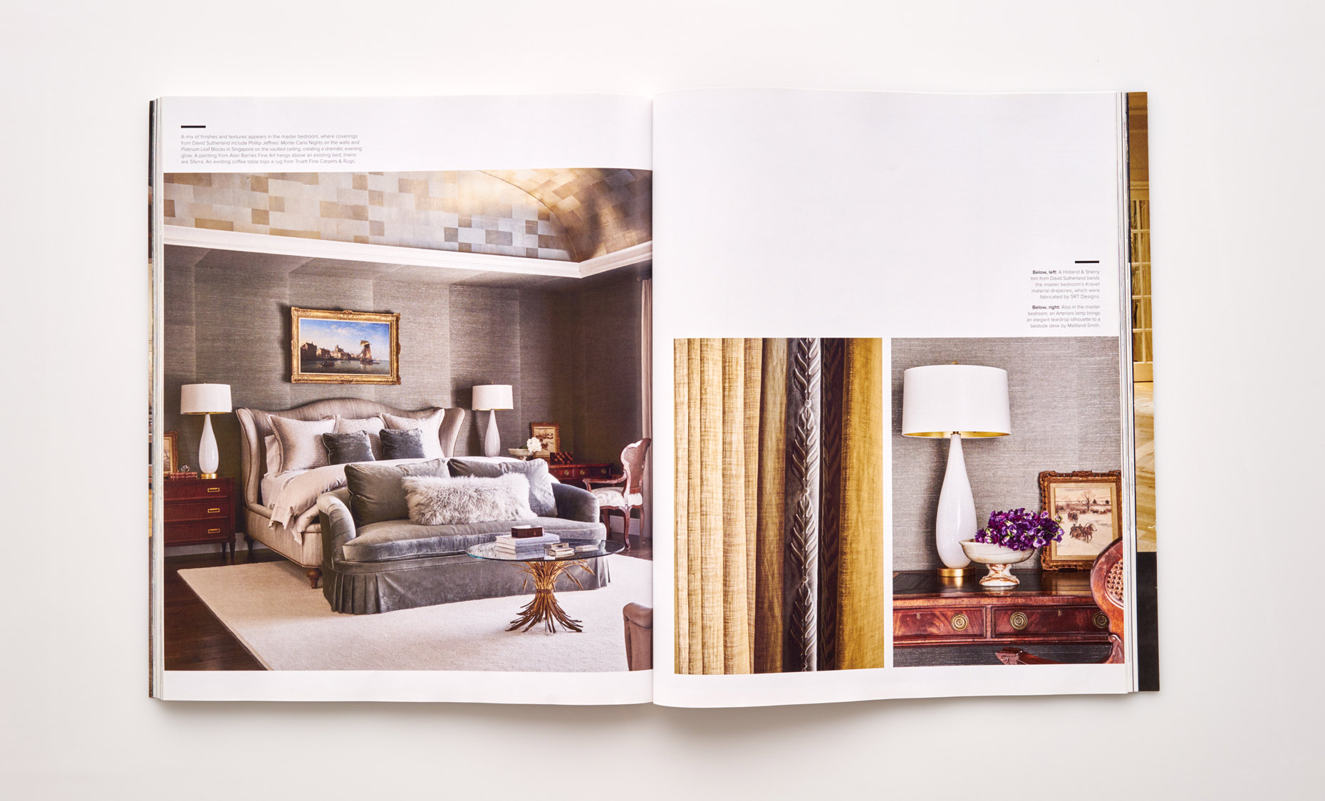 Stephen Karlisch Luxe Surface Interest Bedroom
