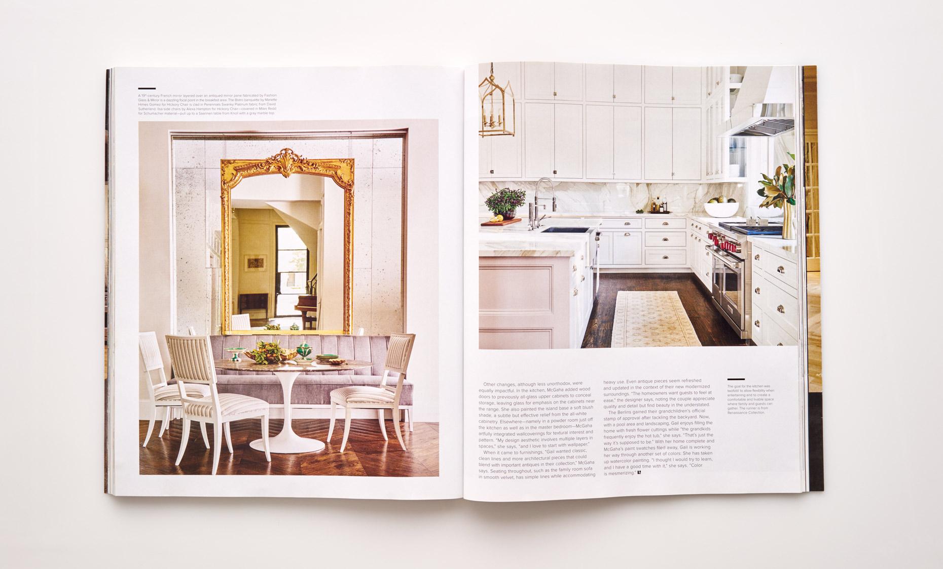 Stephen Karlisch Luxe Surface Interest Kitchen