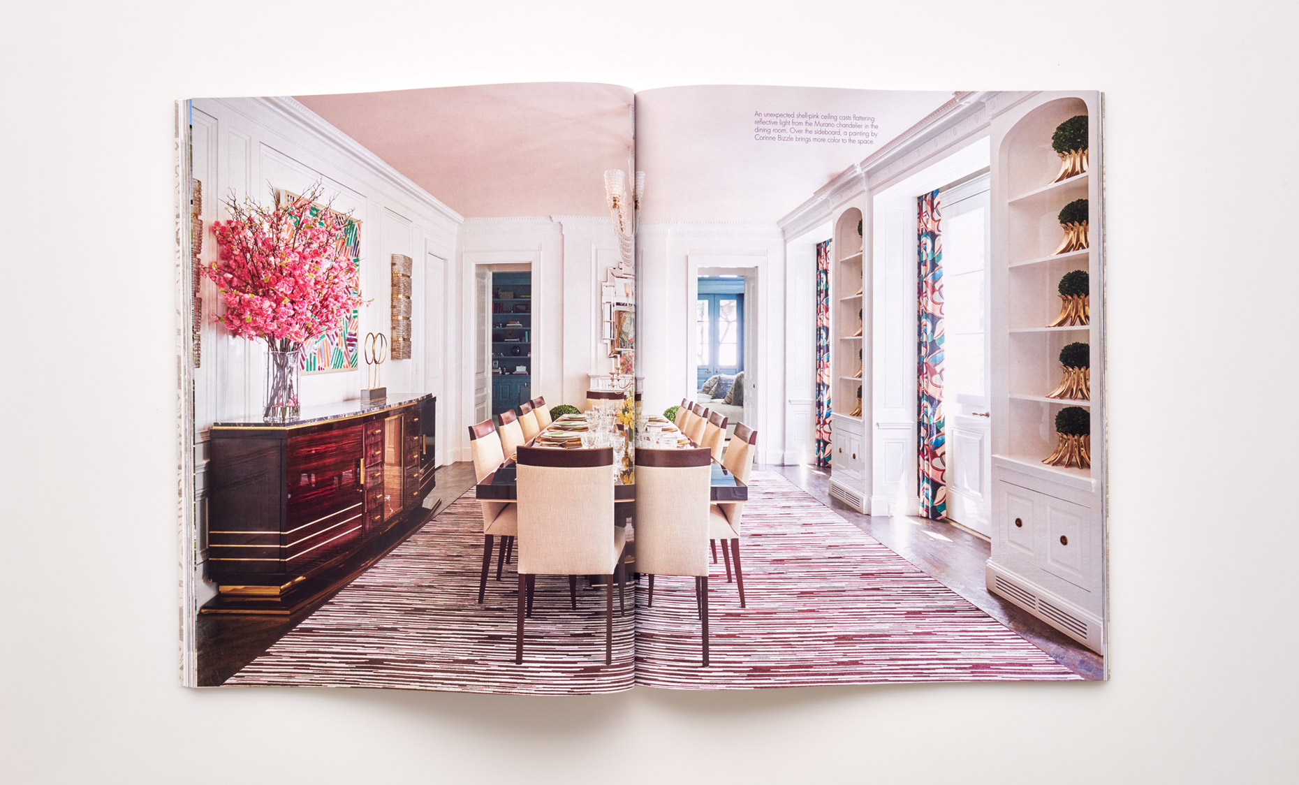 Stephen Karlisch Southern Home Livable Luxury Dining Room