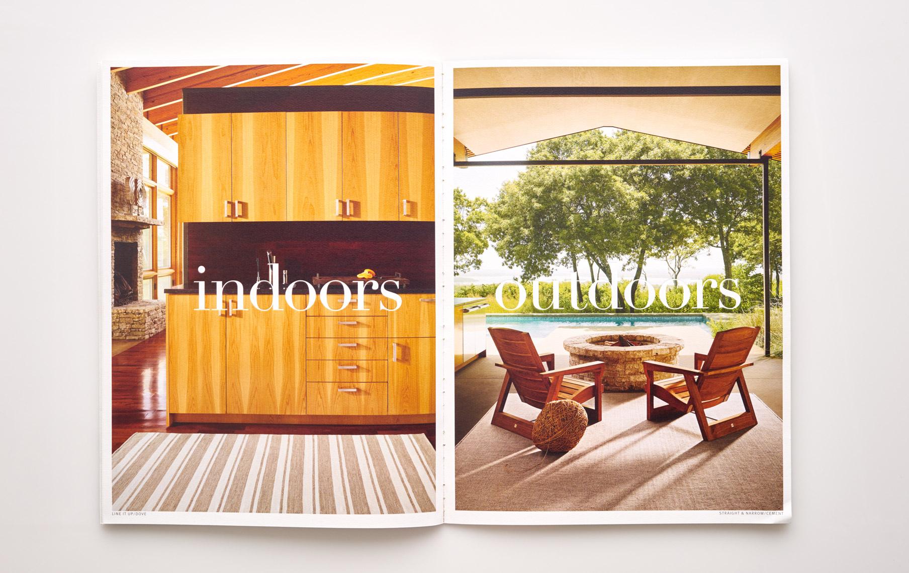 Stephen Karlisch Perennials Rugs Indoors Outdoors