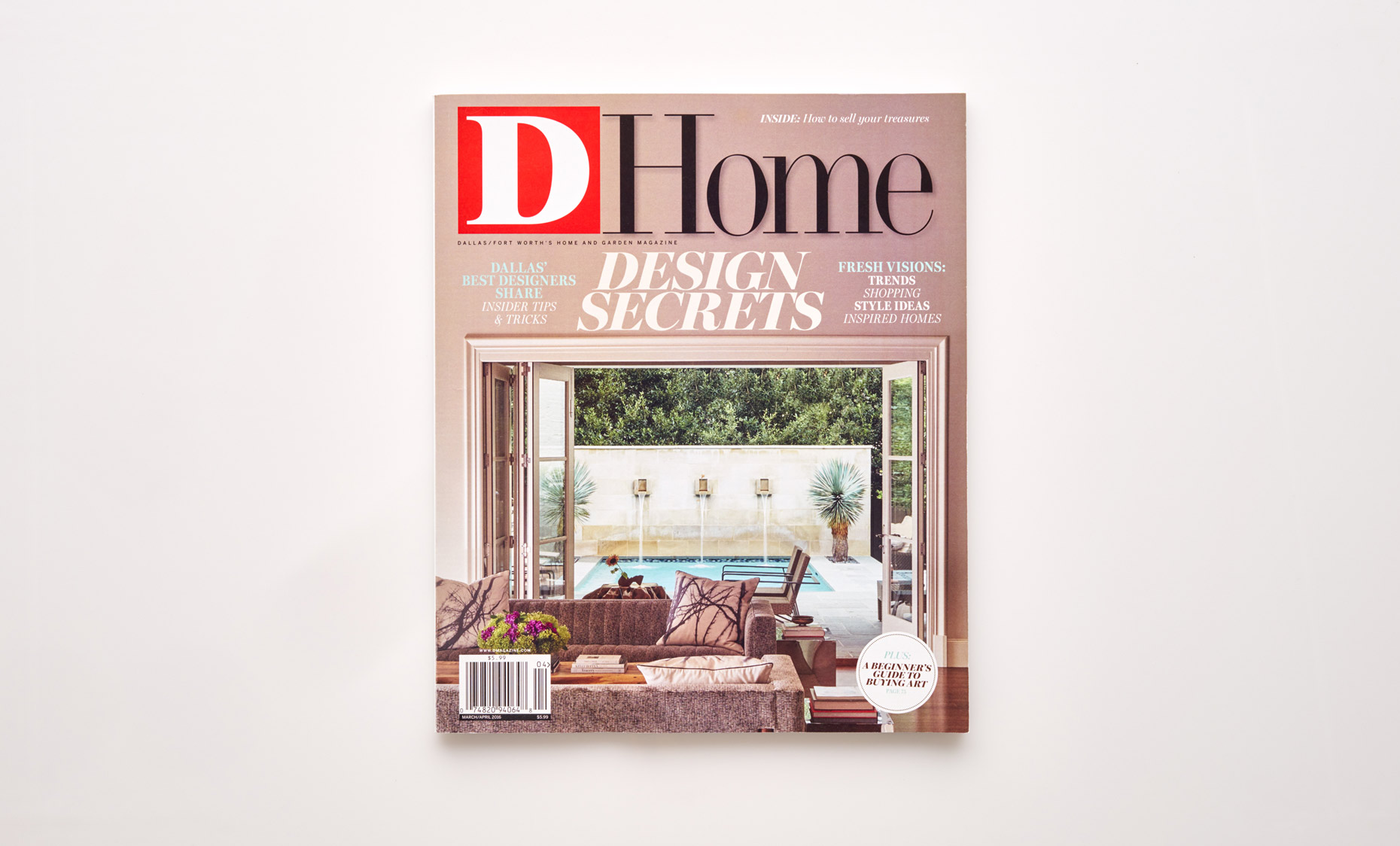 Stephen Karlisch D Home Artist In Residence Magazine Cover