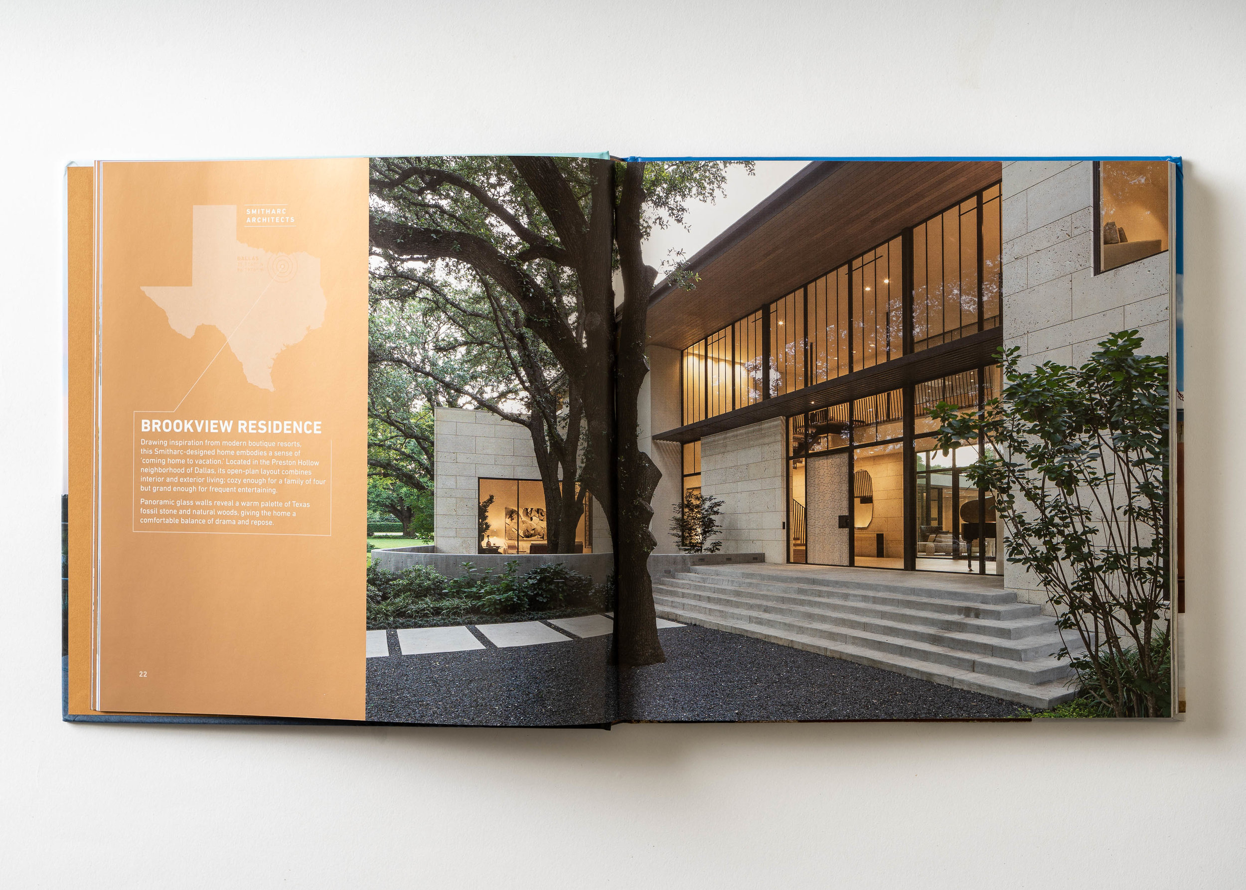 Stephen Karlisch Texas Modern Brookview Entrance
