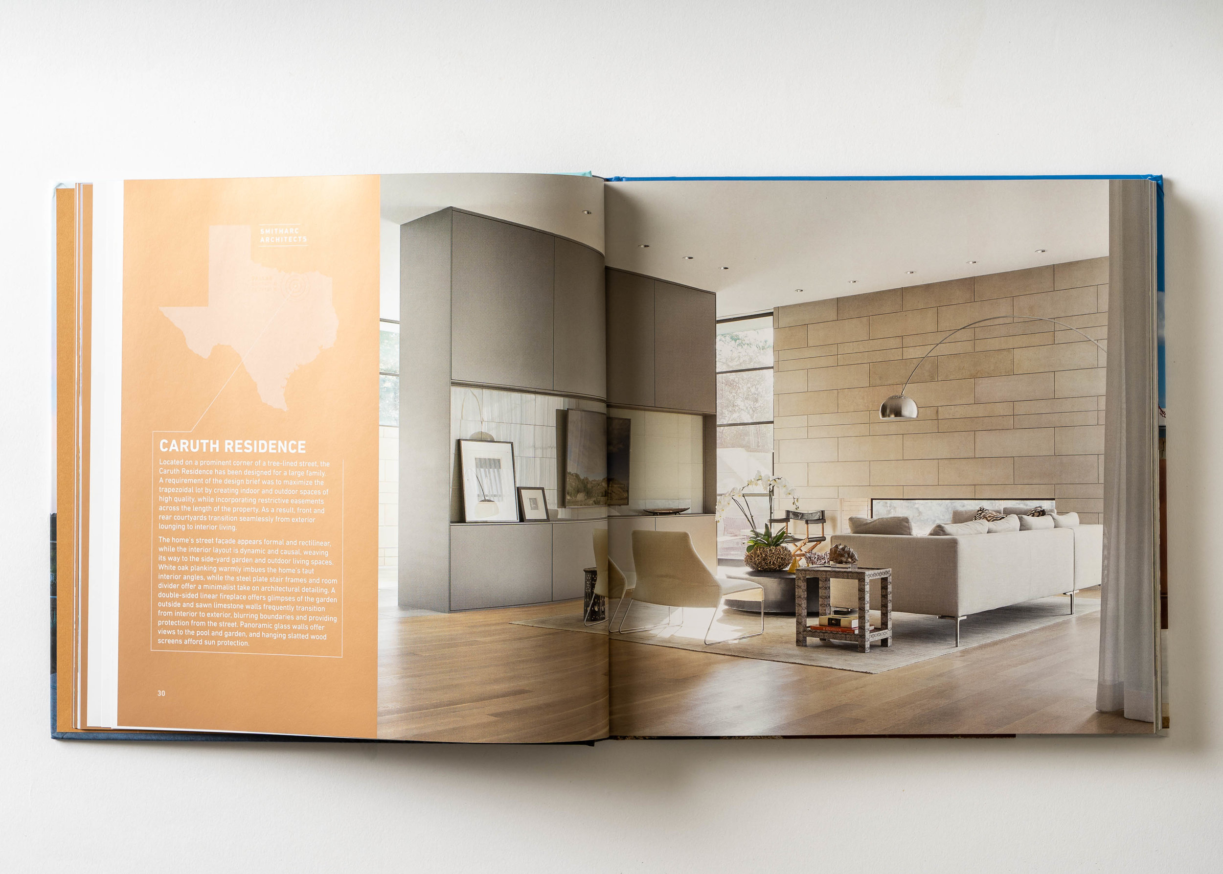 Stephen Karlisch Texas Modern Caruth Living Room