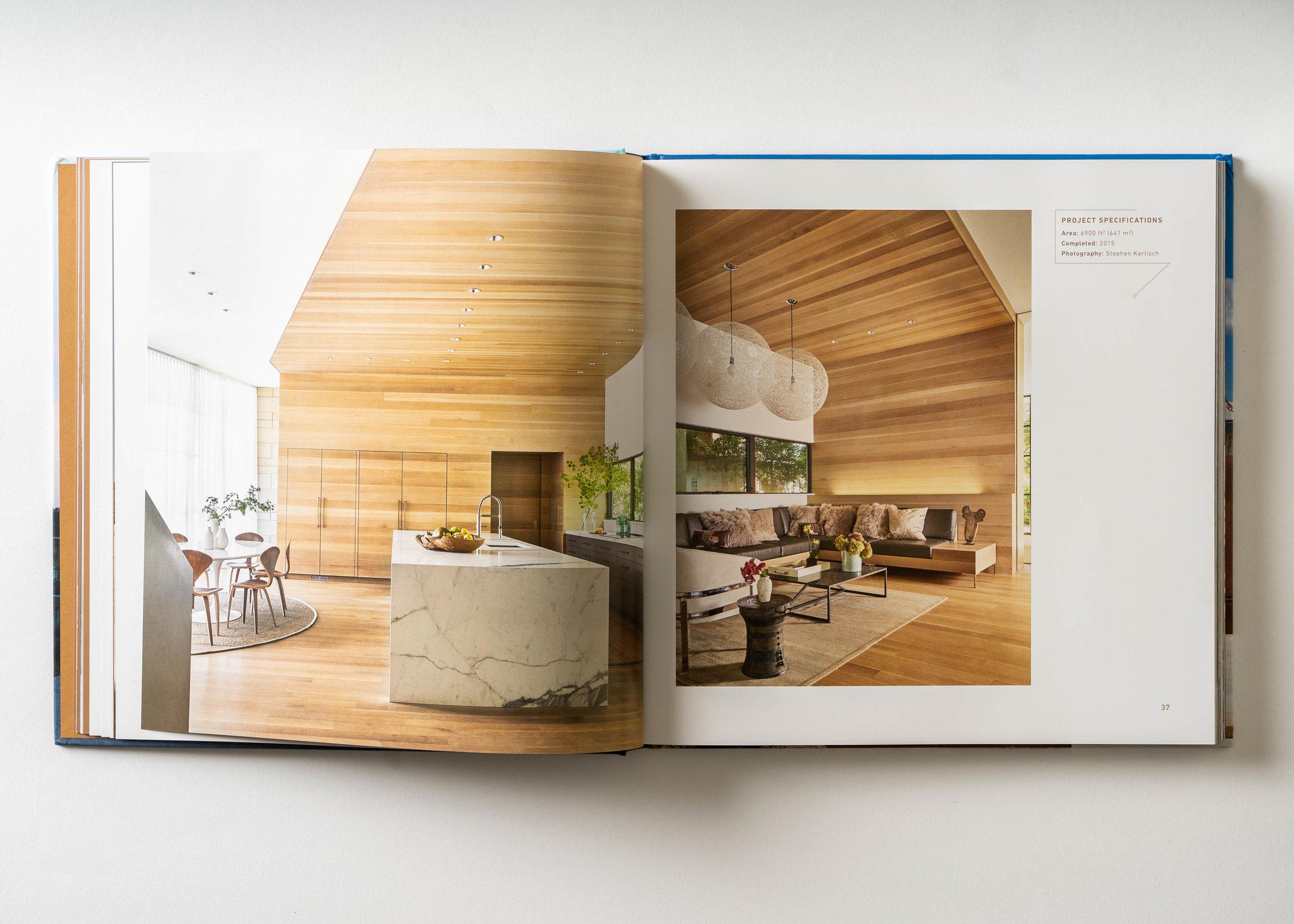 Stephen Karlisch Texas Modern Caruth Kitchen Lounge
