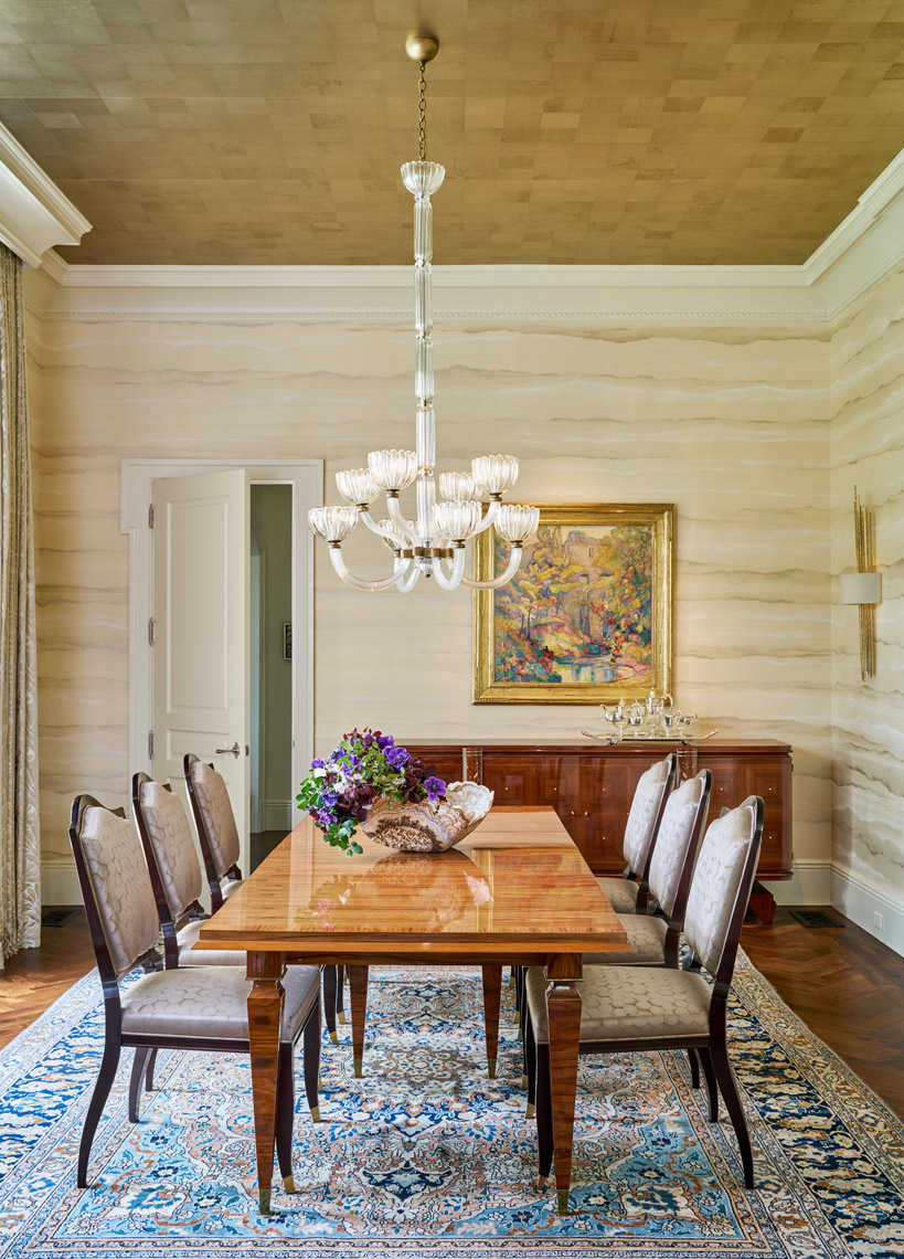 Stephen Karlisch Meadwood Project Dining Room