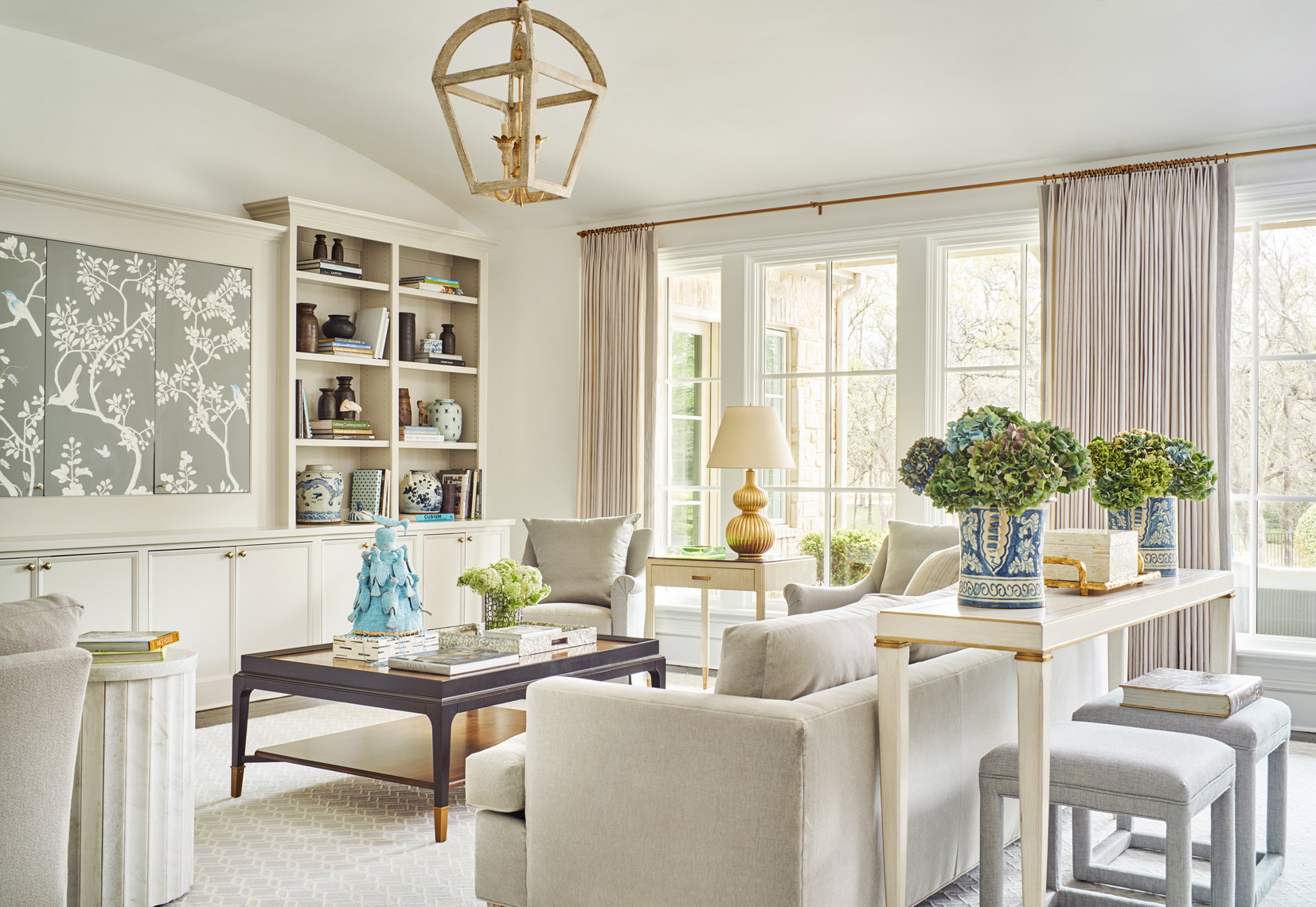 Stephen Karlisch Southlake Project Living Room