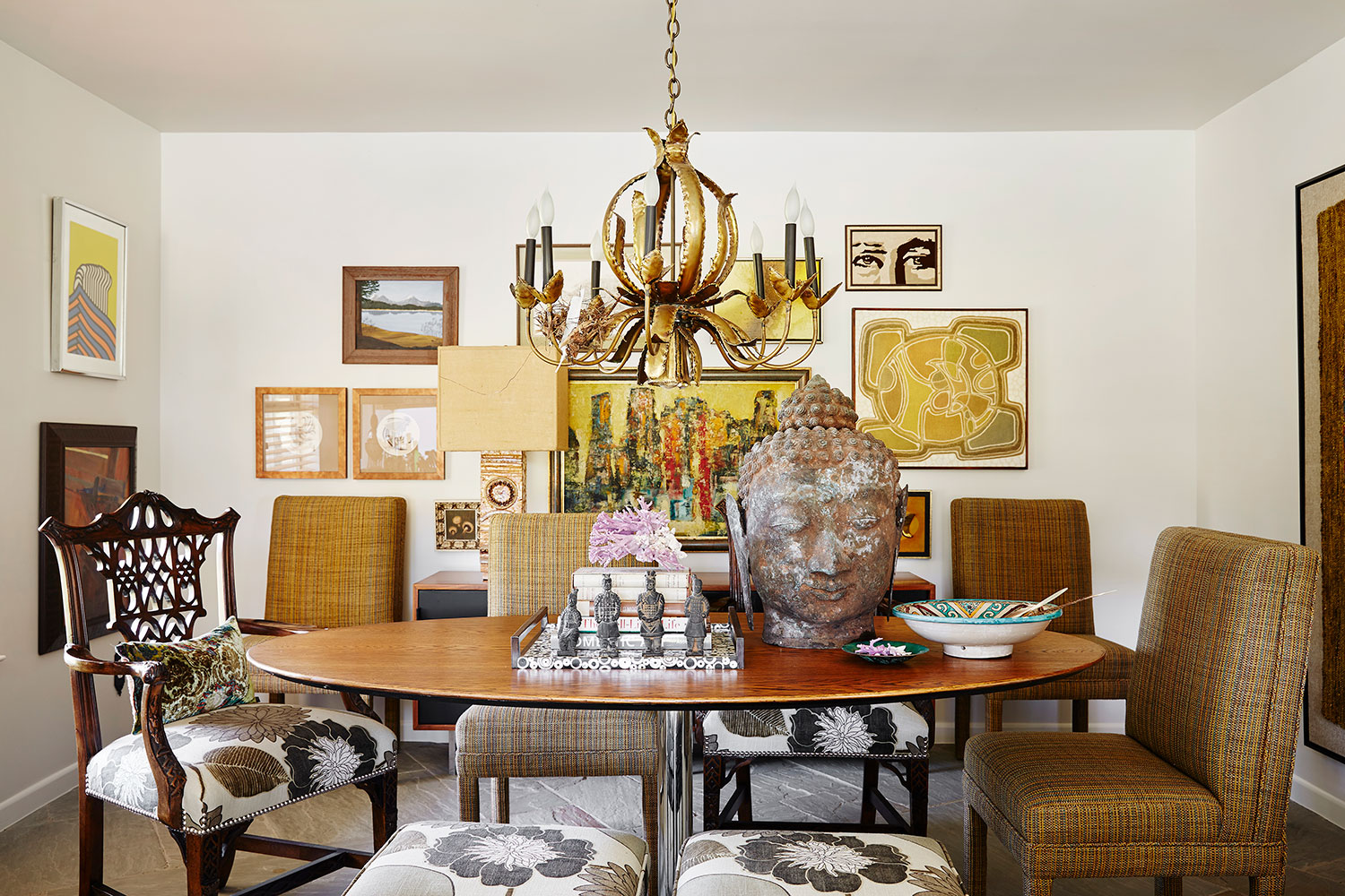 Stephen Karlisch Second Home Dining Room