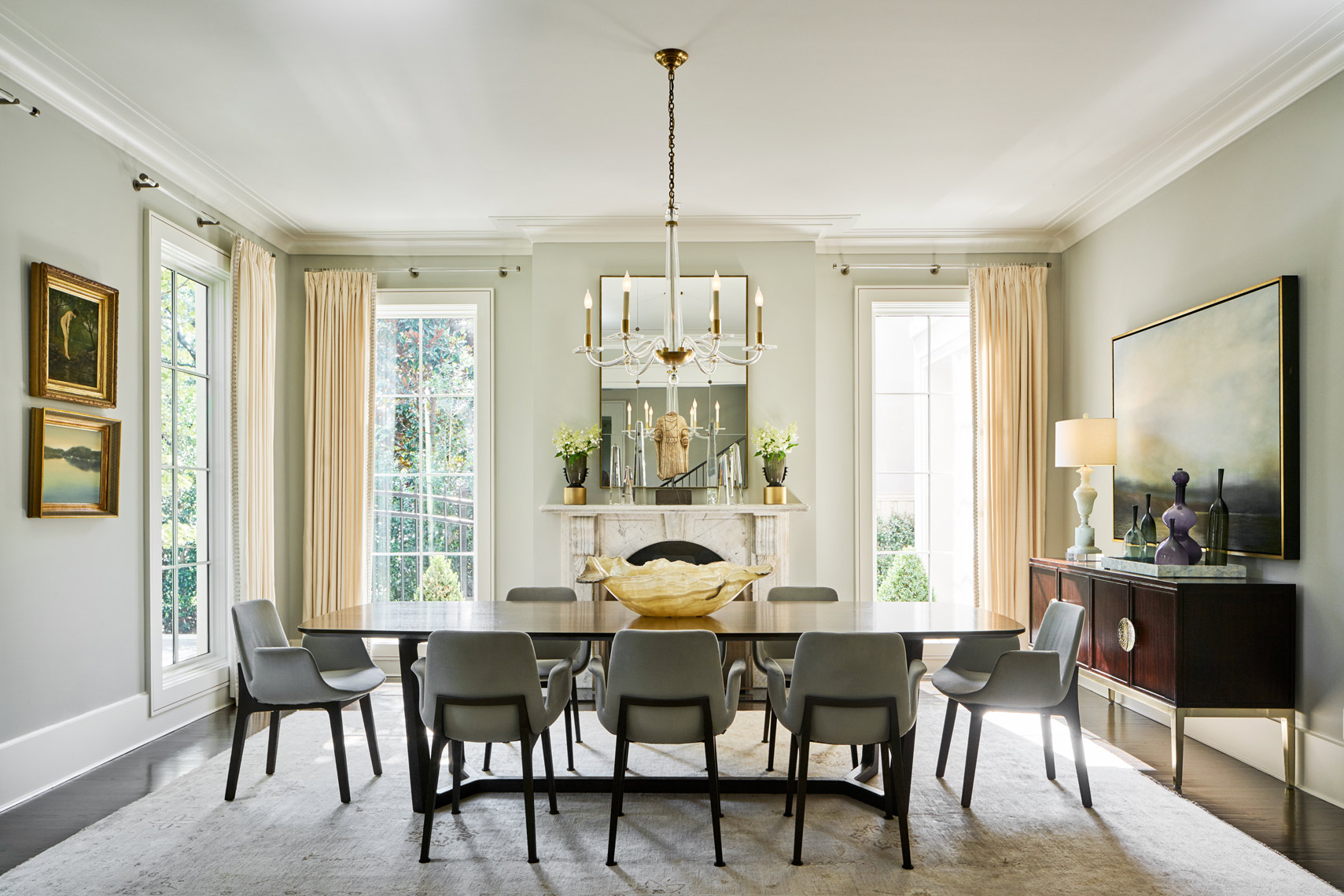 Stephen Karlisch Musgrove Project Dining Room