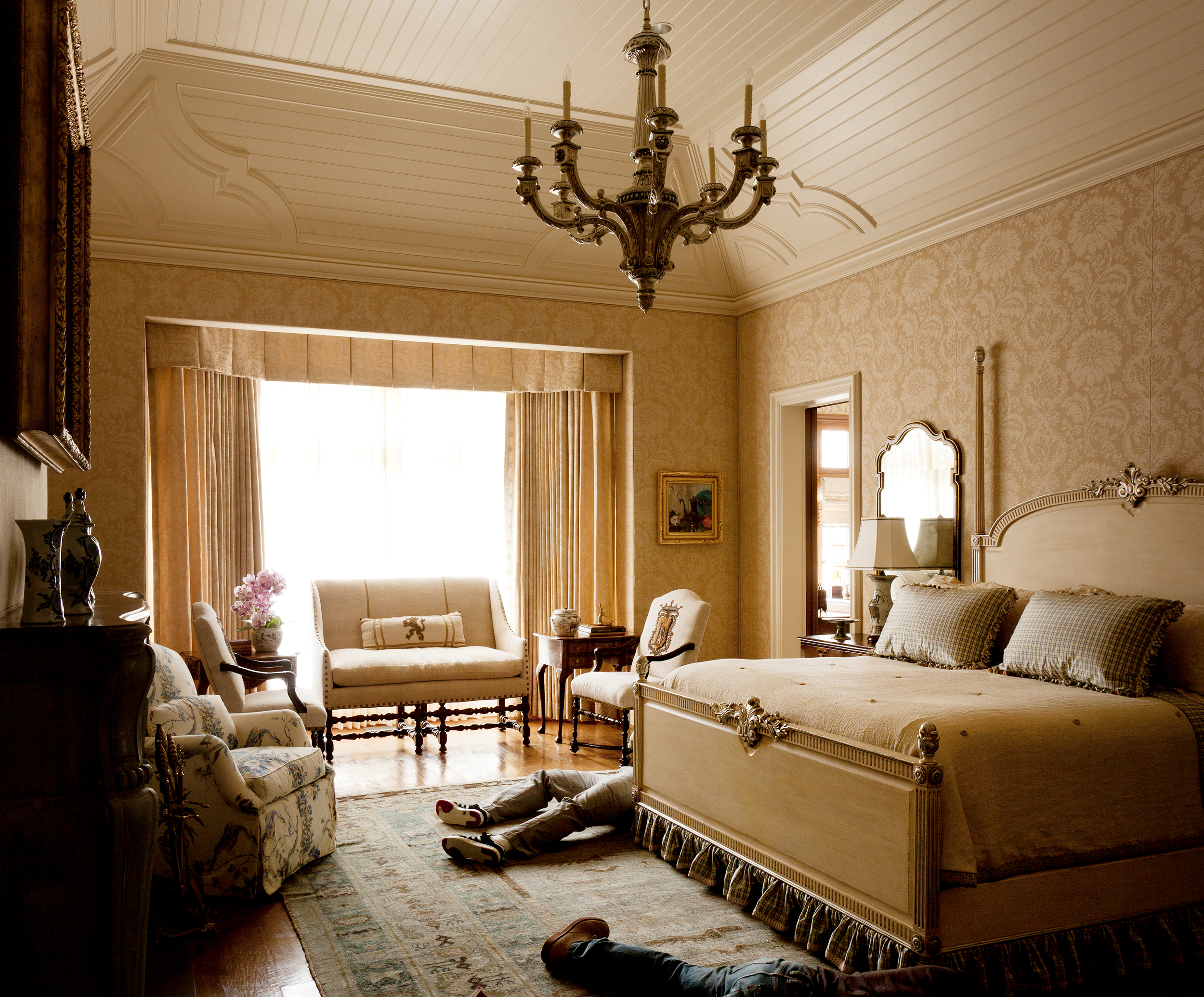 Stephen Karlisch Deadshots Classic Colonial Bedroom