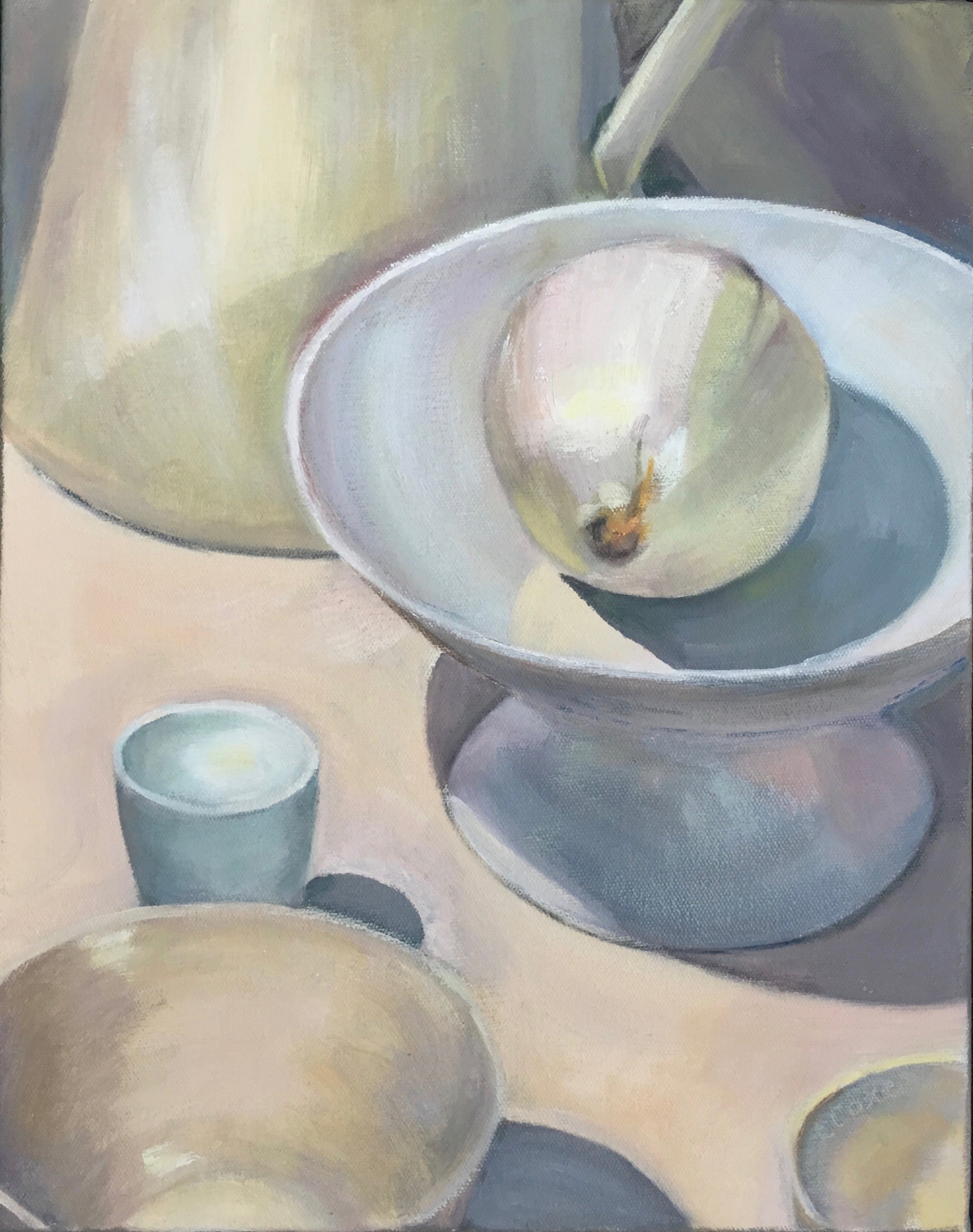 Onion and White Dishes