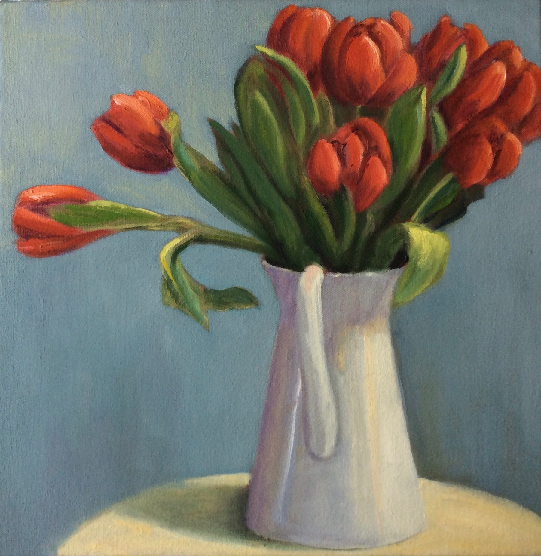 Yuletide Tulips