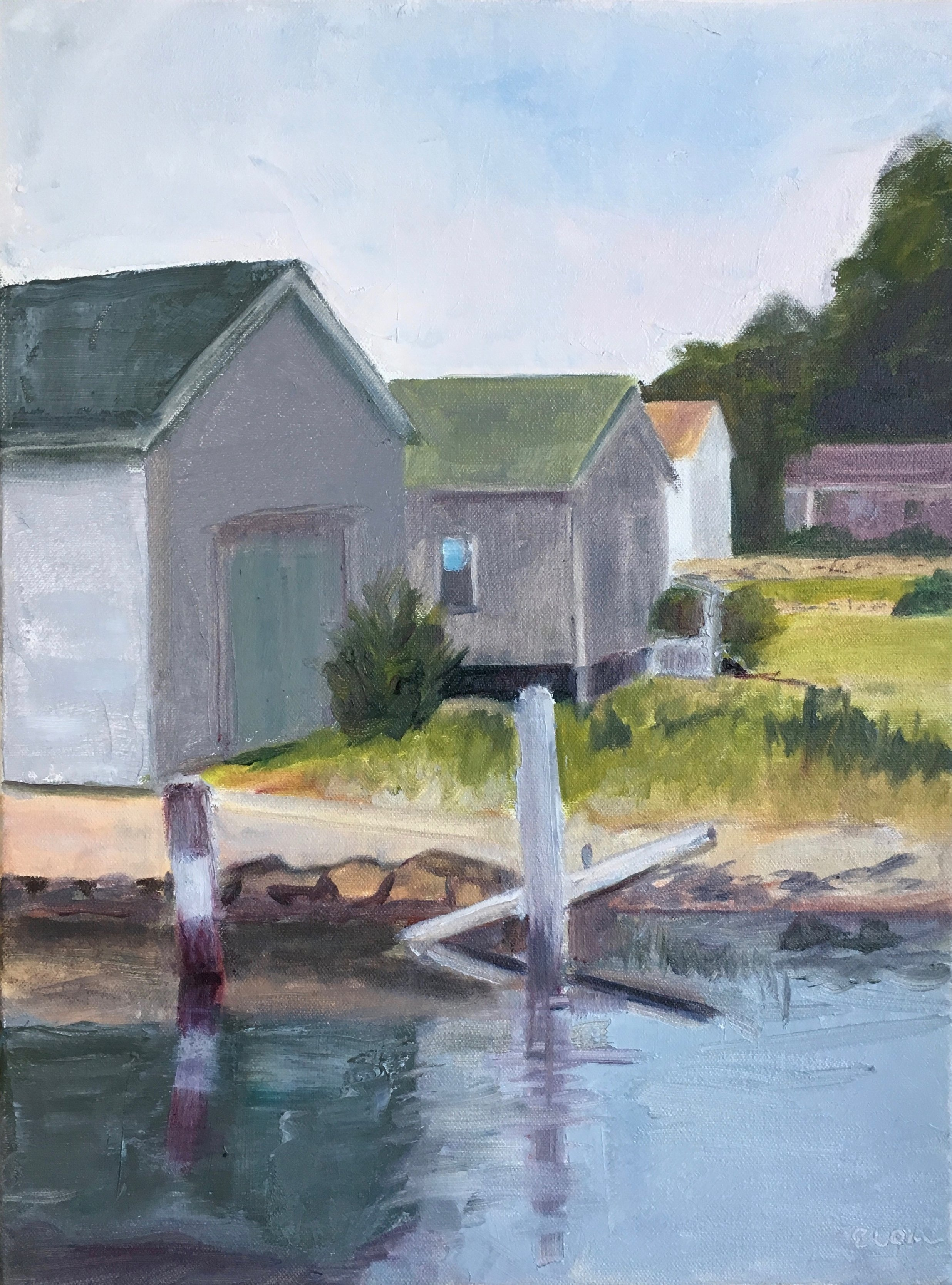 Boat Sheds at Point