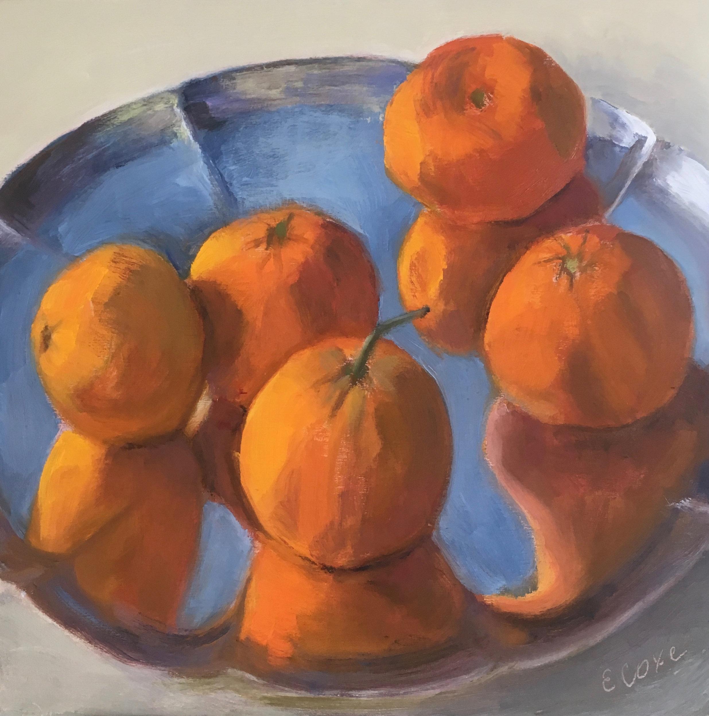 Mandarins on SIlver