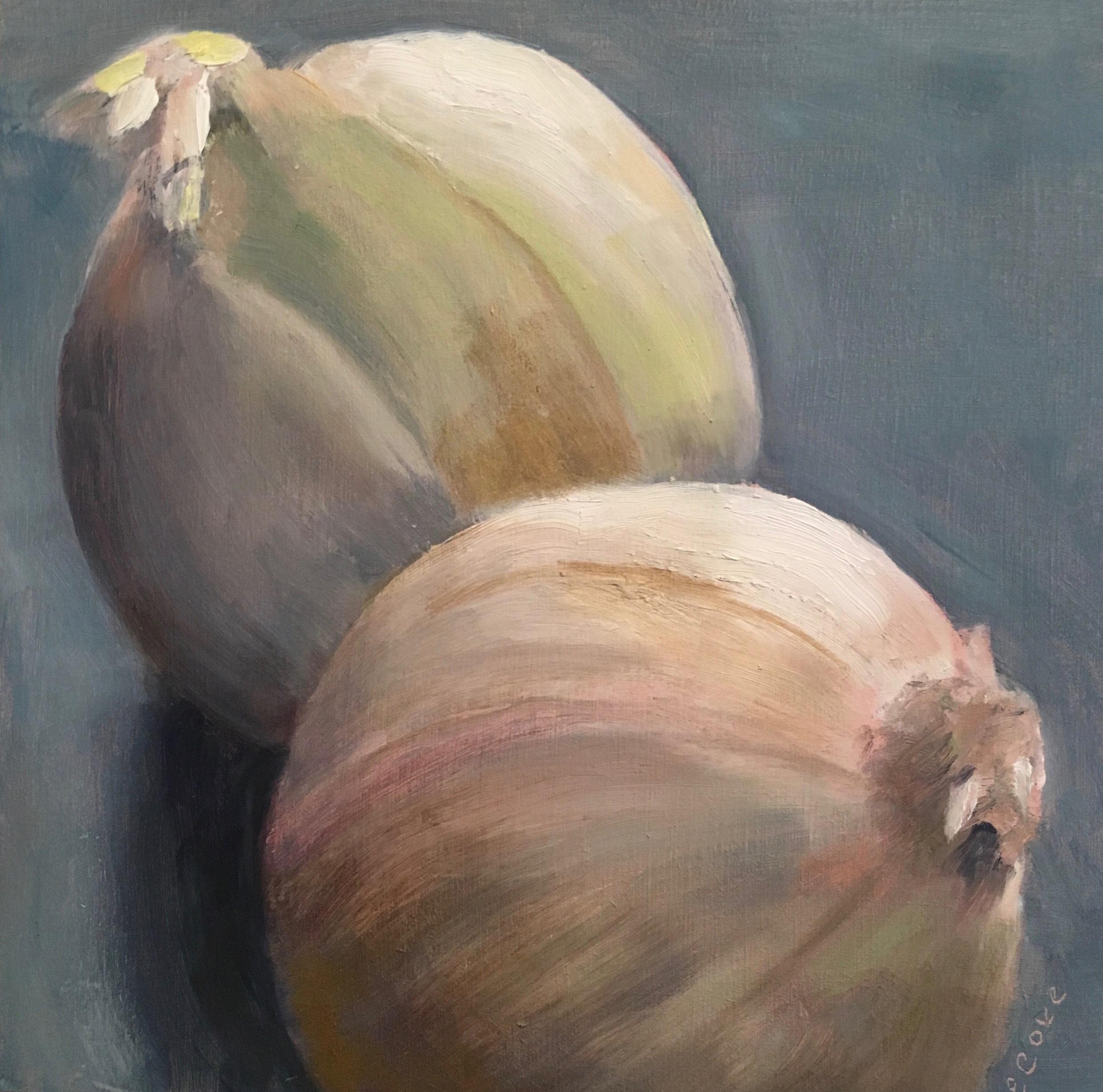 Two White Onions