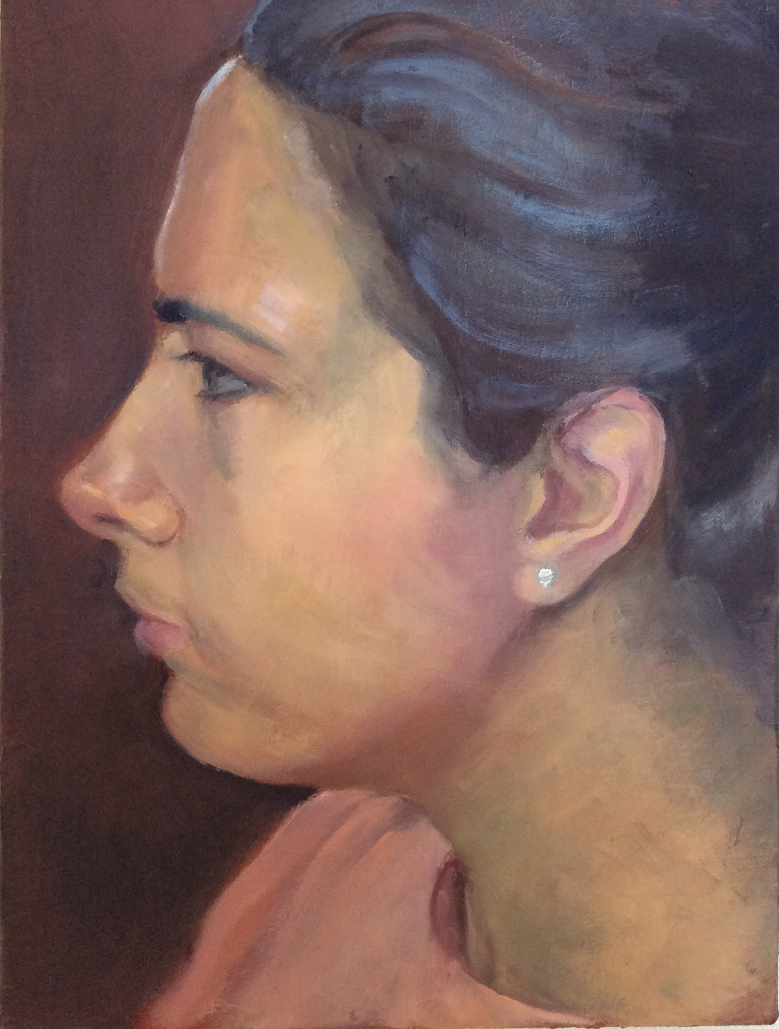 Girl with a Diamond Earring