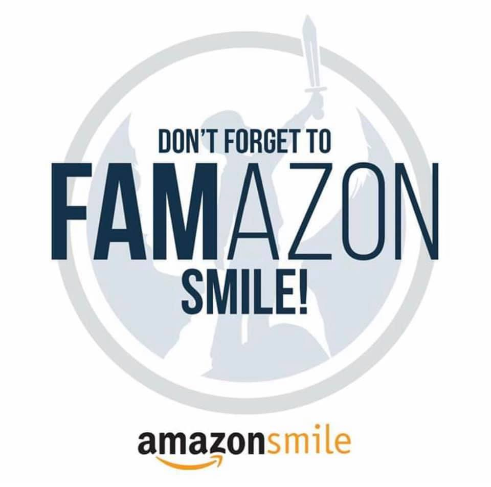 """Make us smile! - There's a new way for YOU to support our FAMilies that won't cost you a penny! Do you order items thru Amazon? Even once in a while? Start EVERY Amazon Shopping trip 🛒 from smile.amazon.com after selecting FAM- Fighting All Monsters as your charitable organization of choice, and Amazon will donate .5% of your purchase (some exclusions apply) to FAM. That's a small percentage, but will amount quickly once we all link our accounts and help our friends and family link theirs.Click HERE, and enter your login information, on the next page, select the yellow bar that reads """"start shopping"""". On the following page, check the box at the top that reads, """"Yes, I understand that I must start at smile.amazon.com to support FAM- Fighting All Monsters"""" and then select the yellow bar at the bottom that again reads, """"START SHOPPING"""". This will link your account to FAM (you don't actually have to shop right then). When you do need to order something, just imagine www.smile.amazon.com is the door🚪 into the store, and use it EVERY time! At no cost to you, but all thanks to you, donations from Amazon will start turning the lights on Childhood Cancer!"""