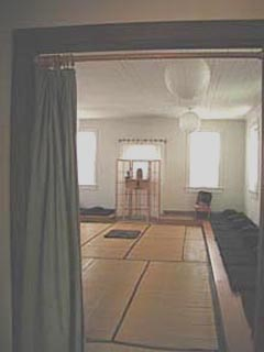 The Santa Cruz zendo before renovation.
