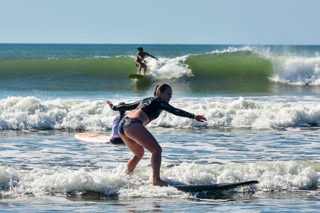 Surfing Cambutal, Panama