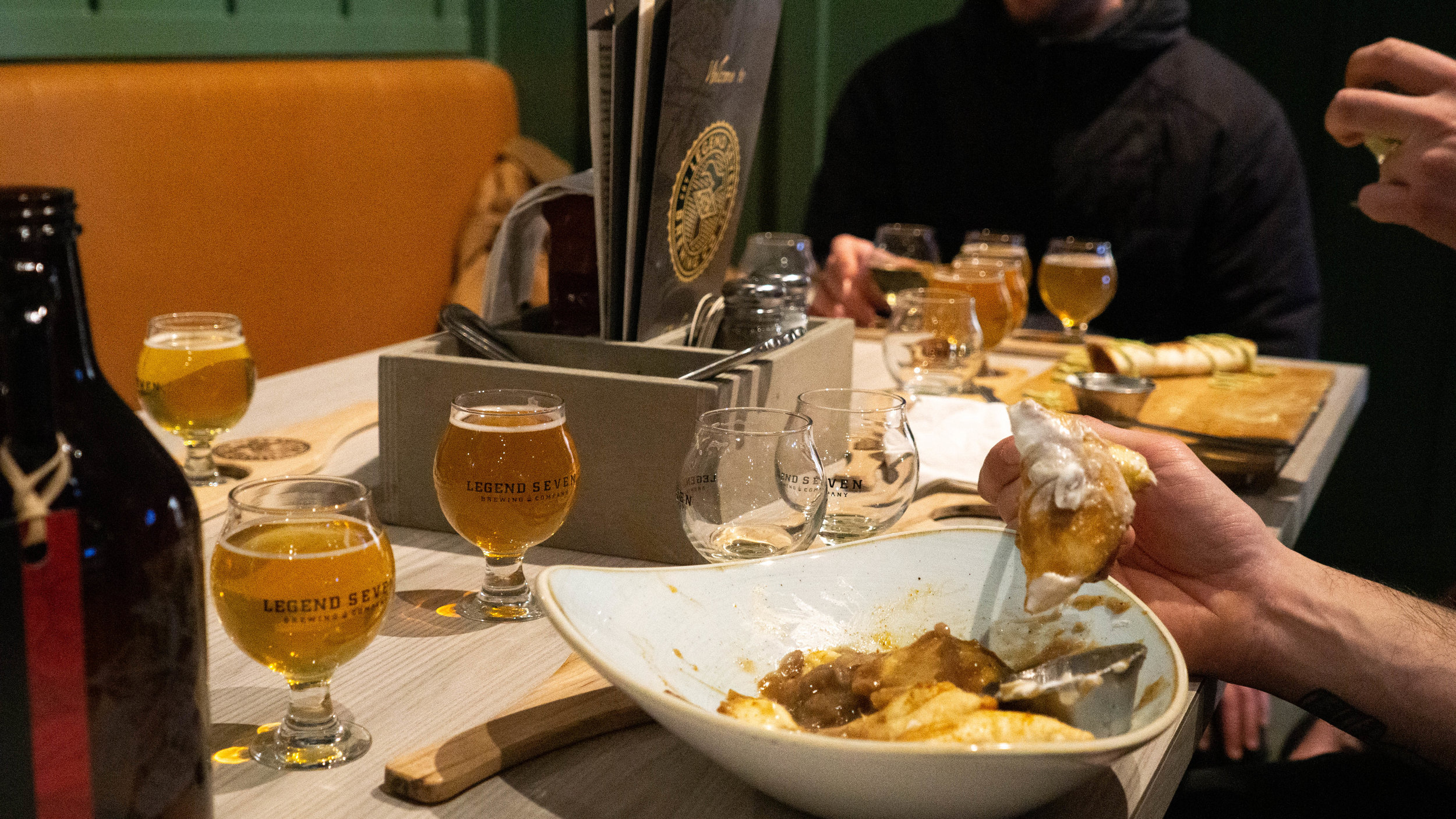 Each of our craft brewery tour line-ups incorporates a stop with food along the way - what pairs better with great craft beers than delicious eats!?