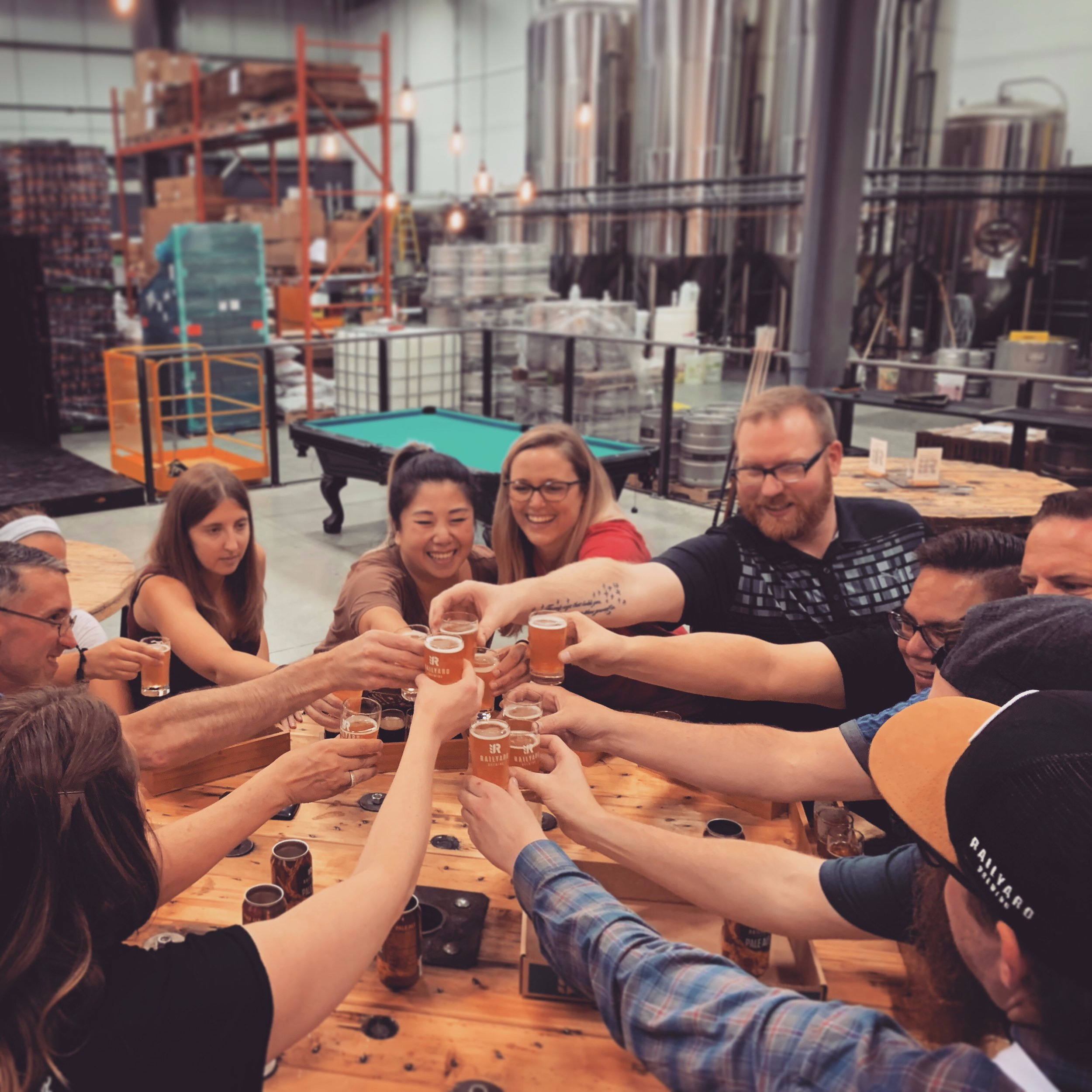 Great craft beers, great people, and great times is what we're all about.