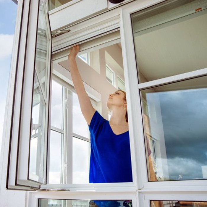 Retractable Window Screens (Roll-Away™)