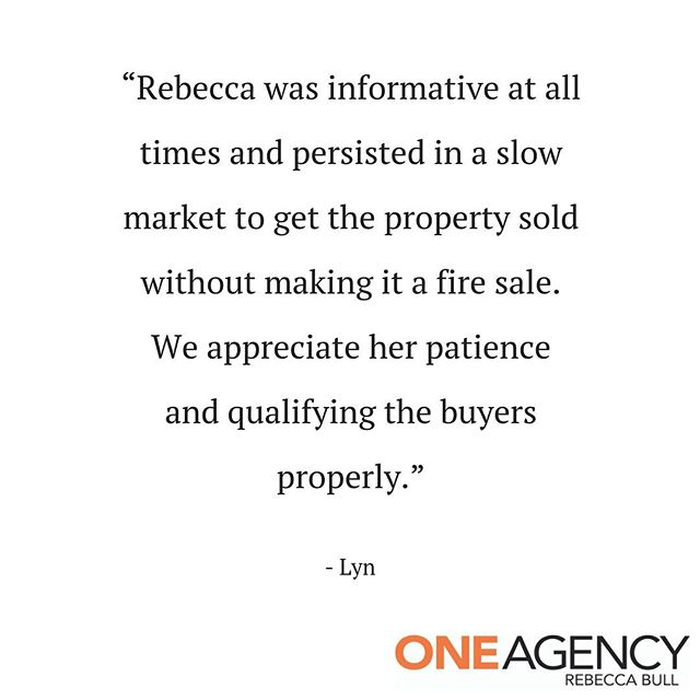 A recent testimonial from one of Rebecca's lovely vendors 🥰  Bec is such a hard worker and wants the best outcome for her vendors - it's great to see it's appreciated.