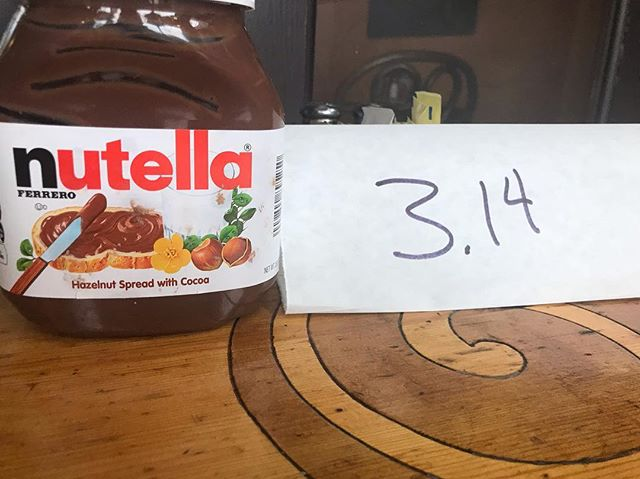 Limited time only #nutellapie