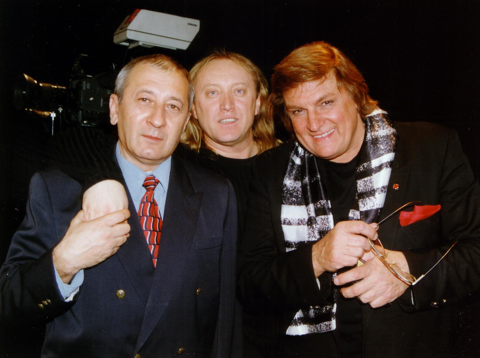 Cu George TARNEA si Florin PIERSIC - Emisiunea 'Schimbul de noapte' (dec. 1998)