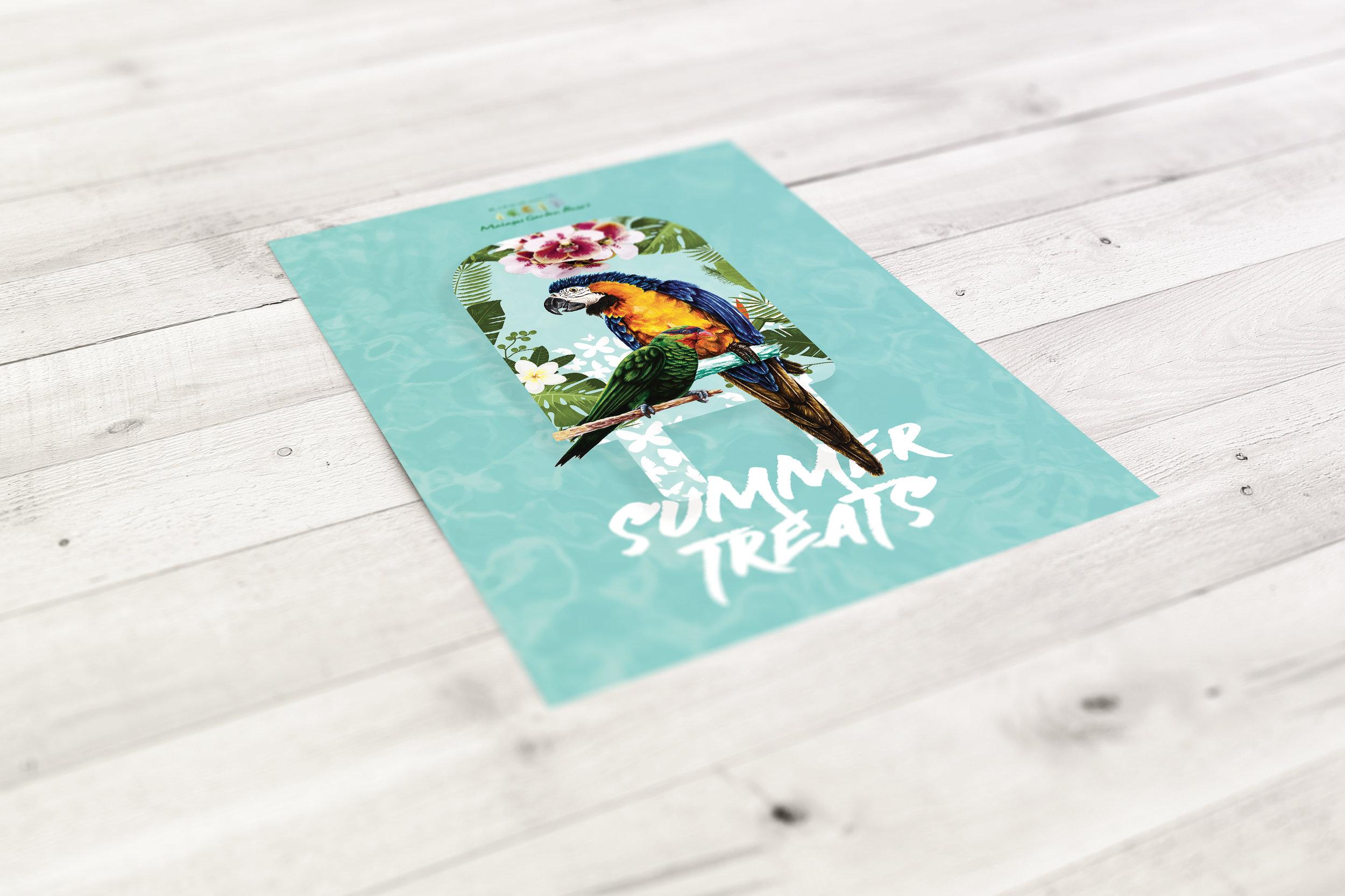 Summer Promo Flyer - Client: Malagos Garden Resort