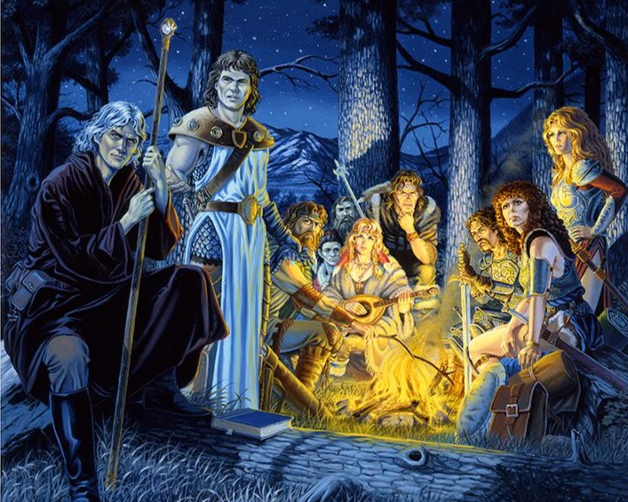 Companions of the Lance by Larry Elmore. One of the best to do it.