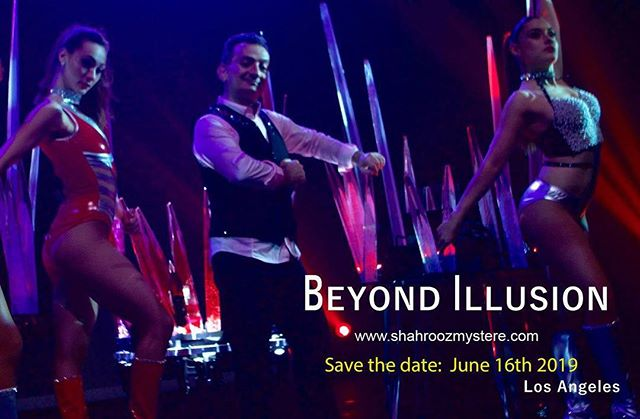 Shahrooz Mystere presents Beyond Illusion #magicians #liveentertainment #illusionmagic #illusionshow #varietyshow #comedy #dance #theater