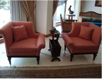 L Arm Chair -