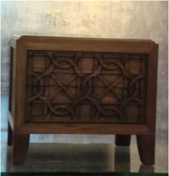 Mohammed Bedside Table -