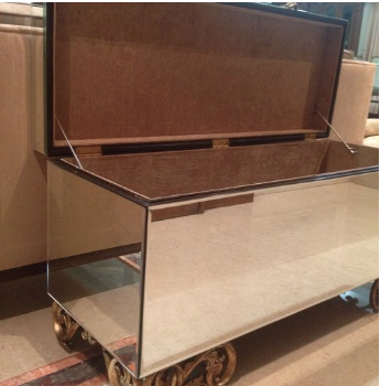Chint Mirror Chest Console -