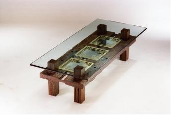 Sleeper Wood Coffee Table -
