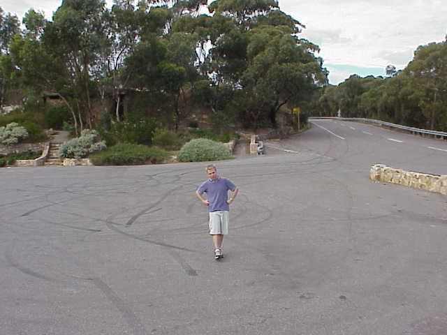 Matty at the Adelaide lookout.JPG